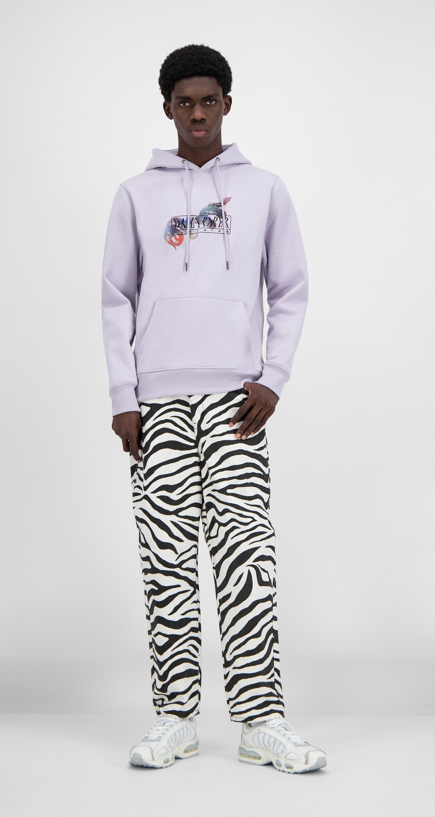Daily Paper - Misty Lilac Hami Hoody - Men