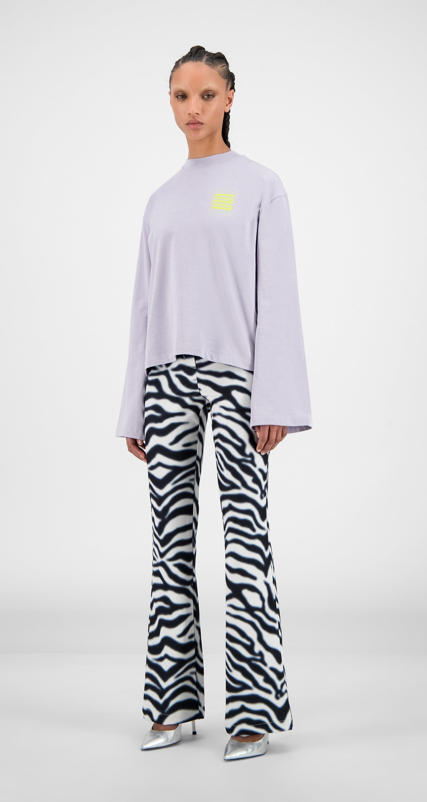 Daily Paper - Misty Lilac Hasmi Long Sleeve - Women