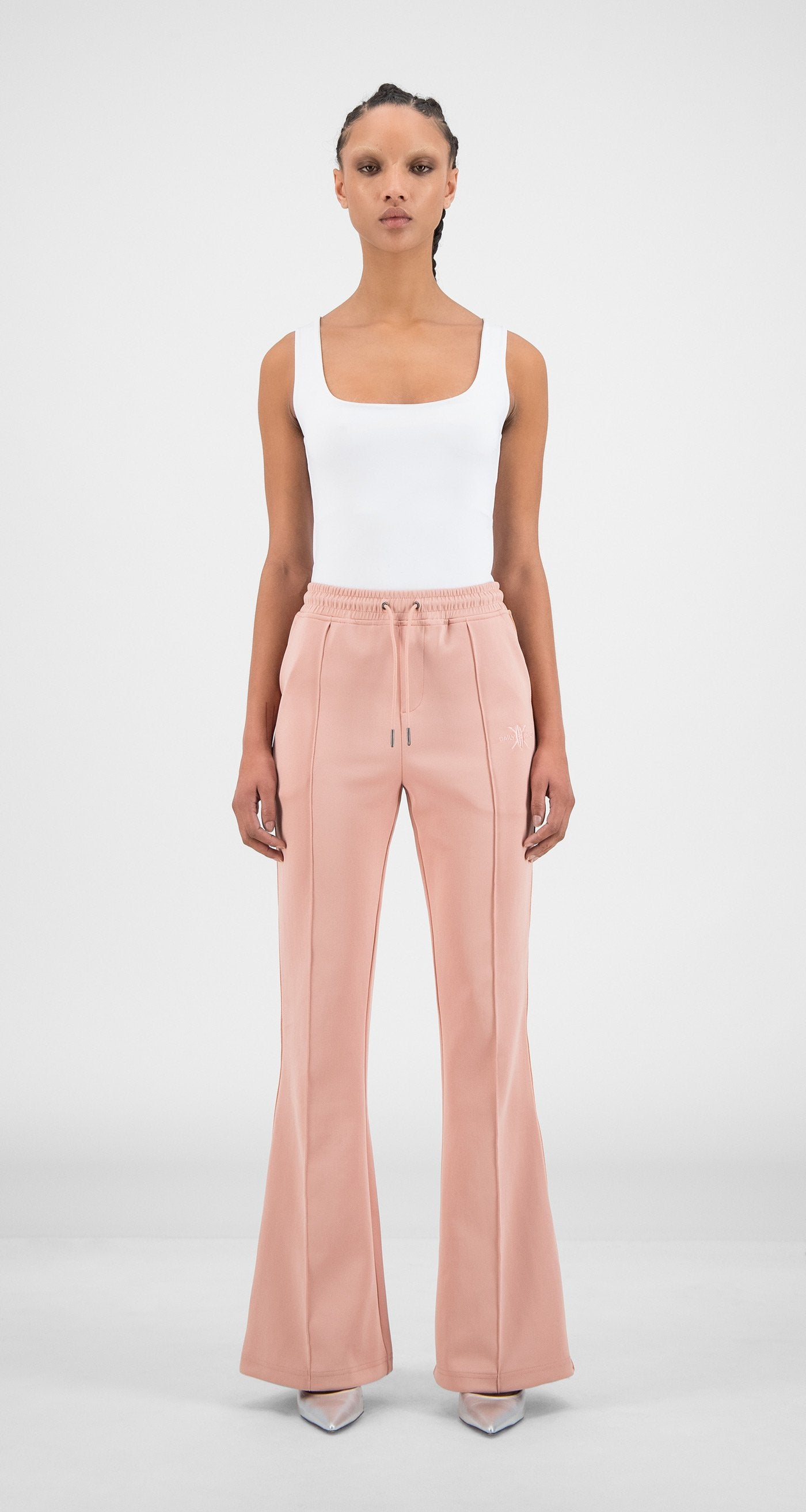 Daily Paper - Misty Rose Flair Tape Pants - Women Front