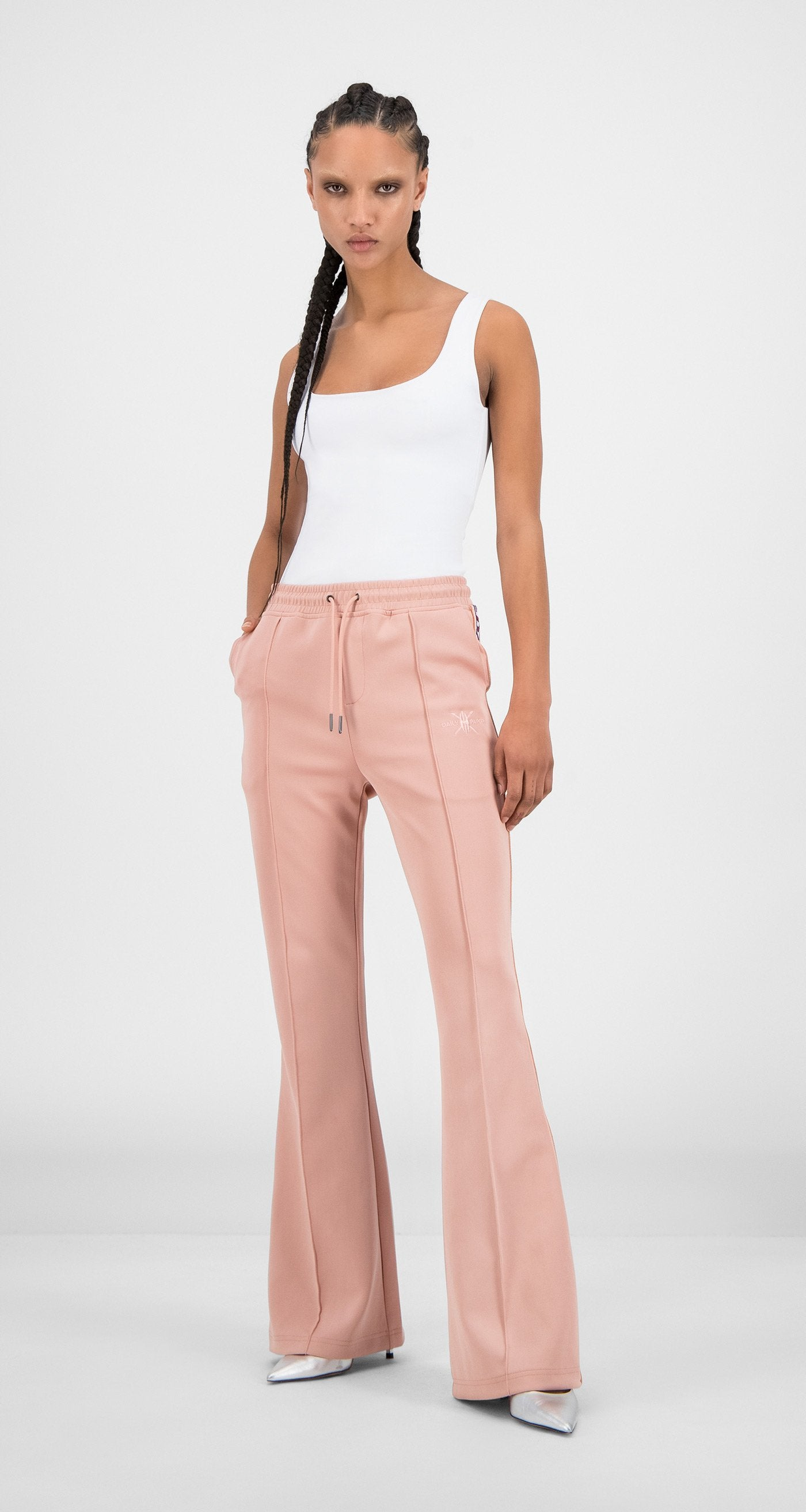 Daily Paper - Misty Rose Flair Tape Pants - Women
