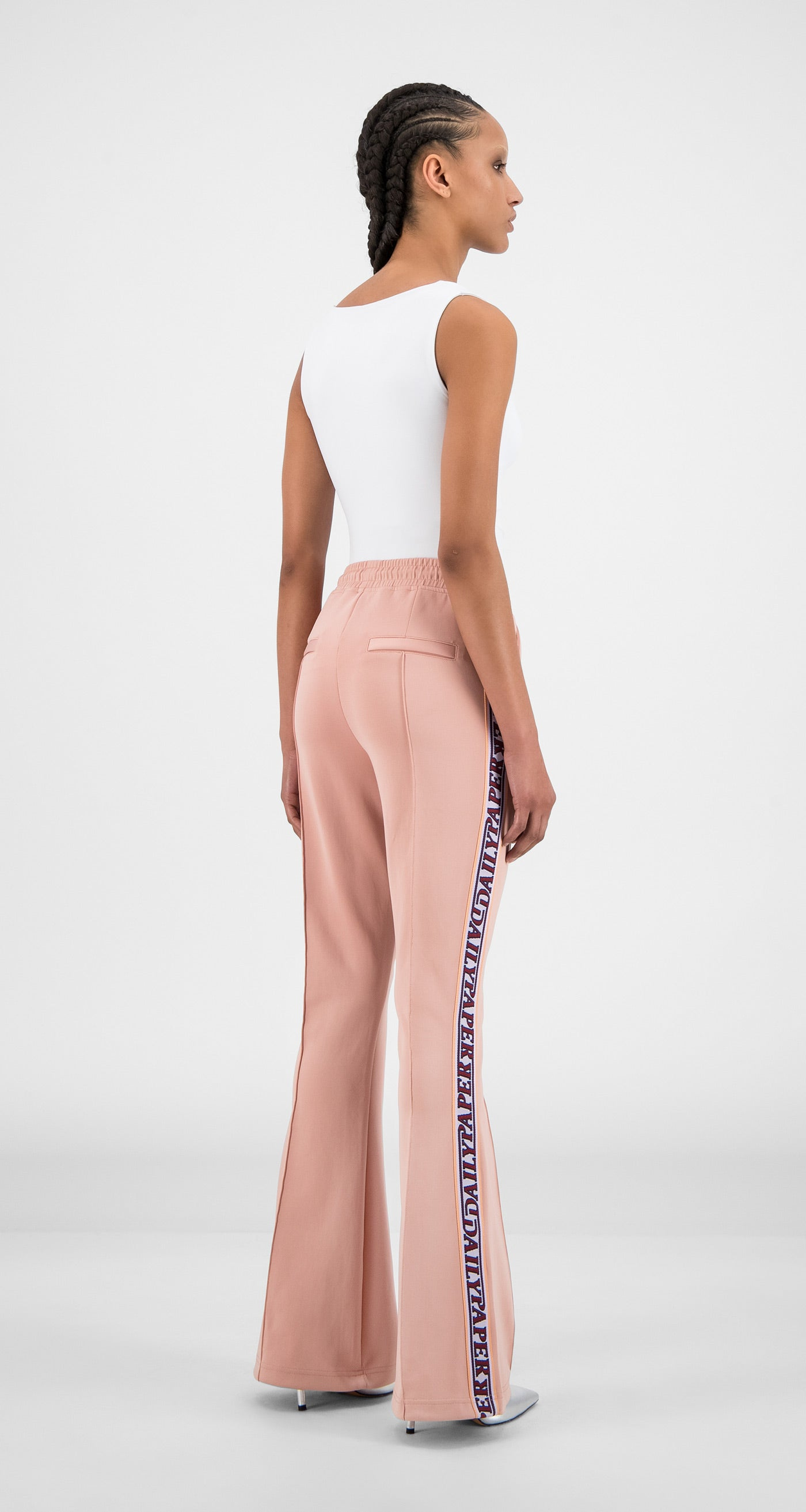 Daily Paper - Misty Rose Flair Tape Pants - Women Rear