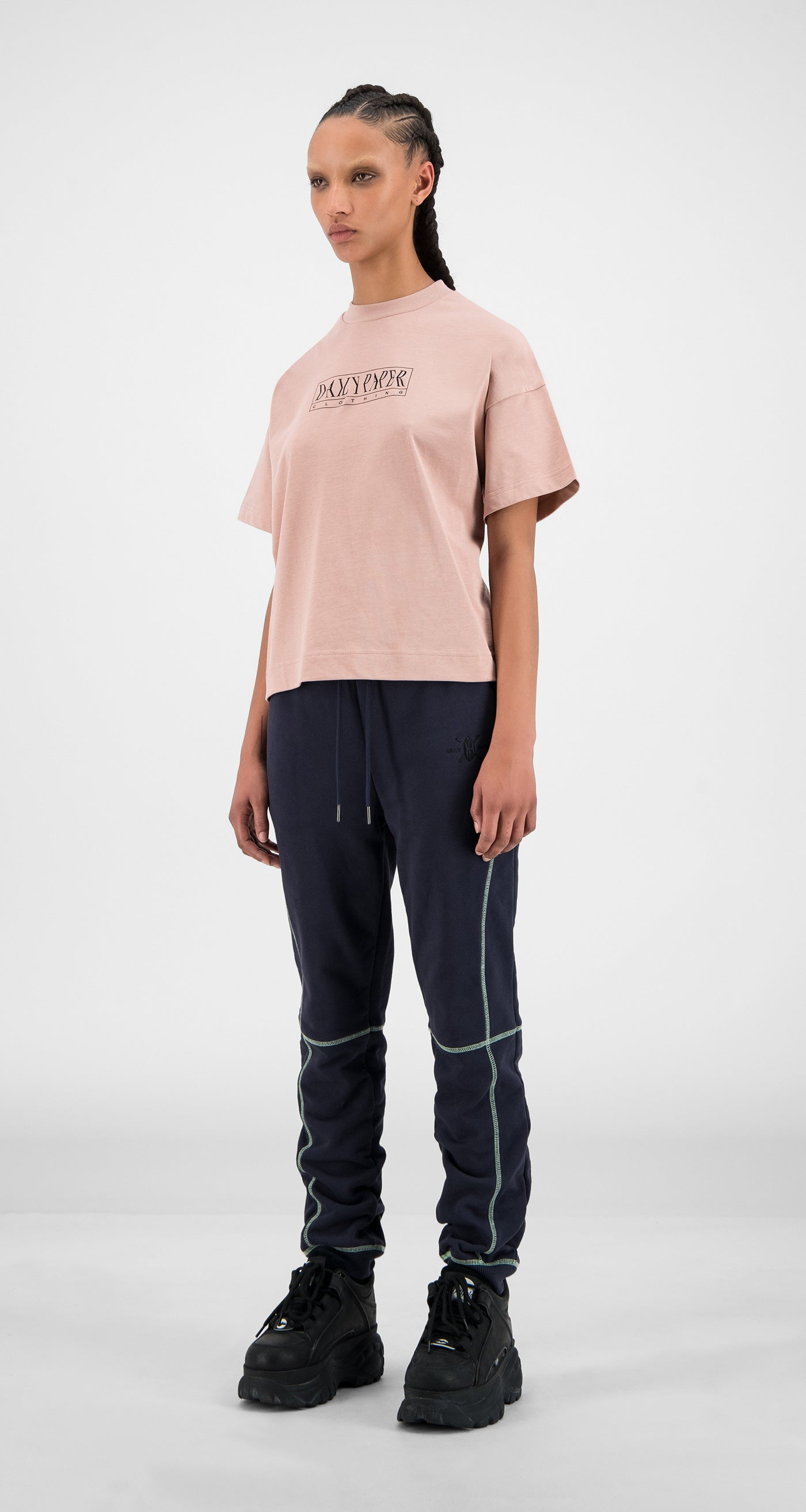Daily Paper - Misty Rose Hicemis T-Shirt - Women