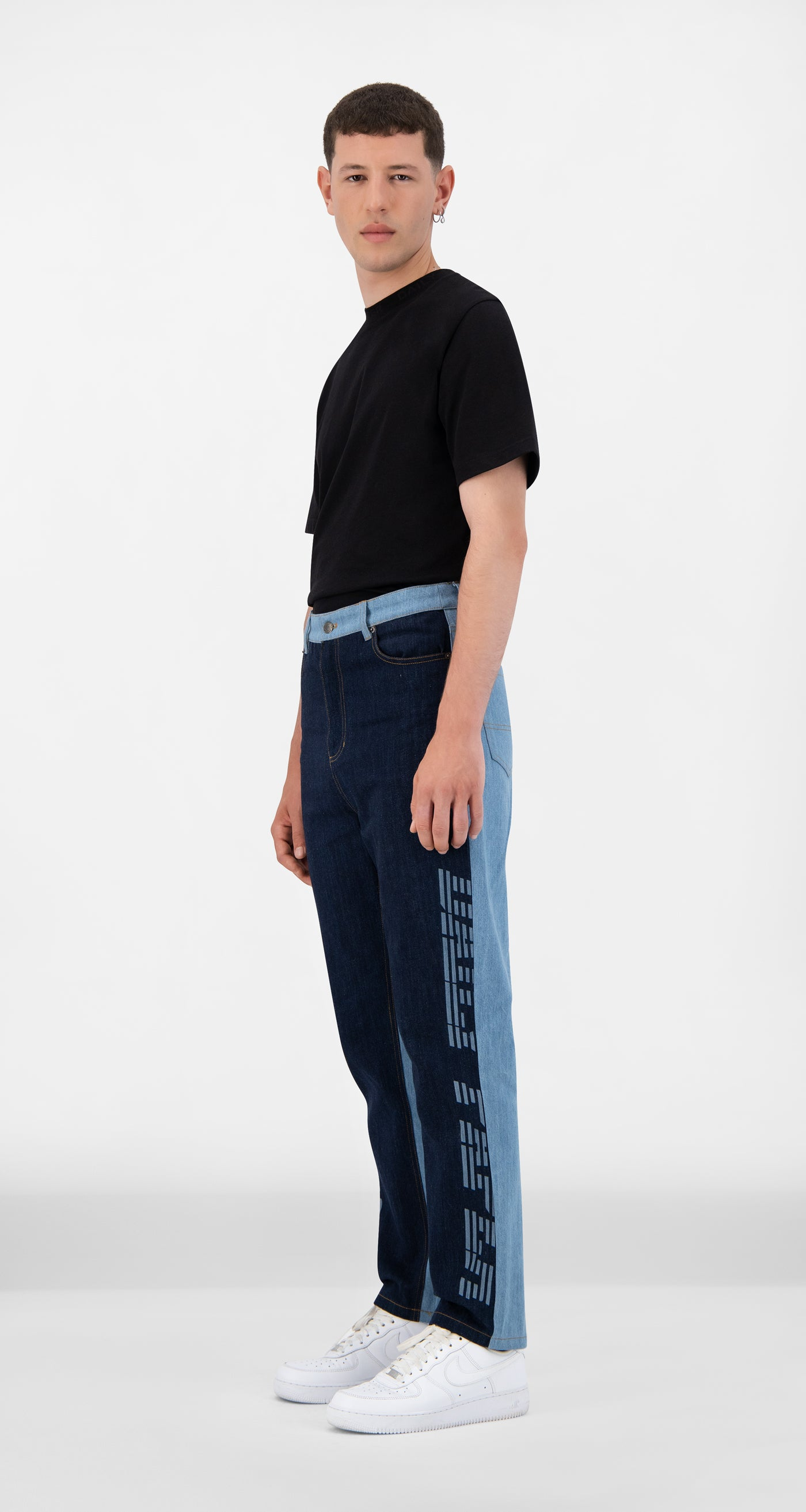 Daily Paper - Mixed Denim Josha Pants - Men