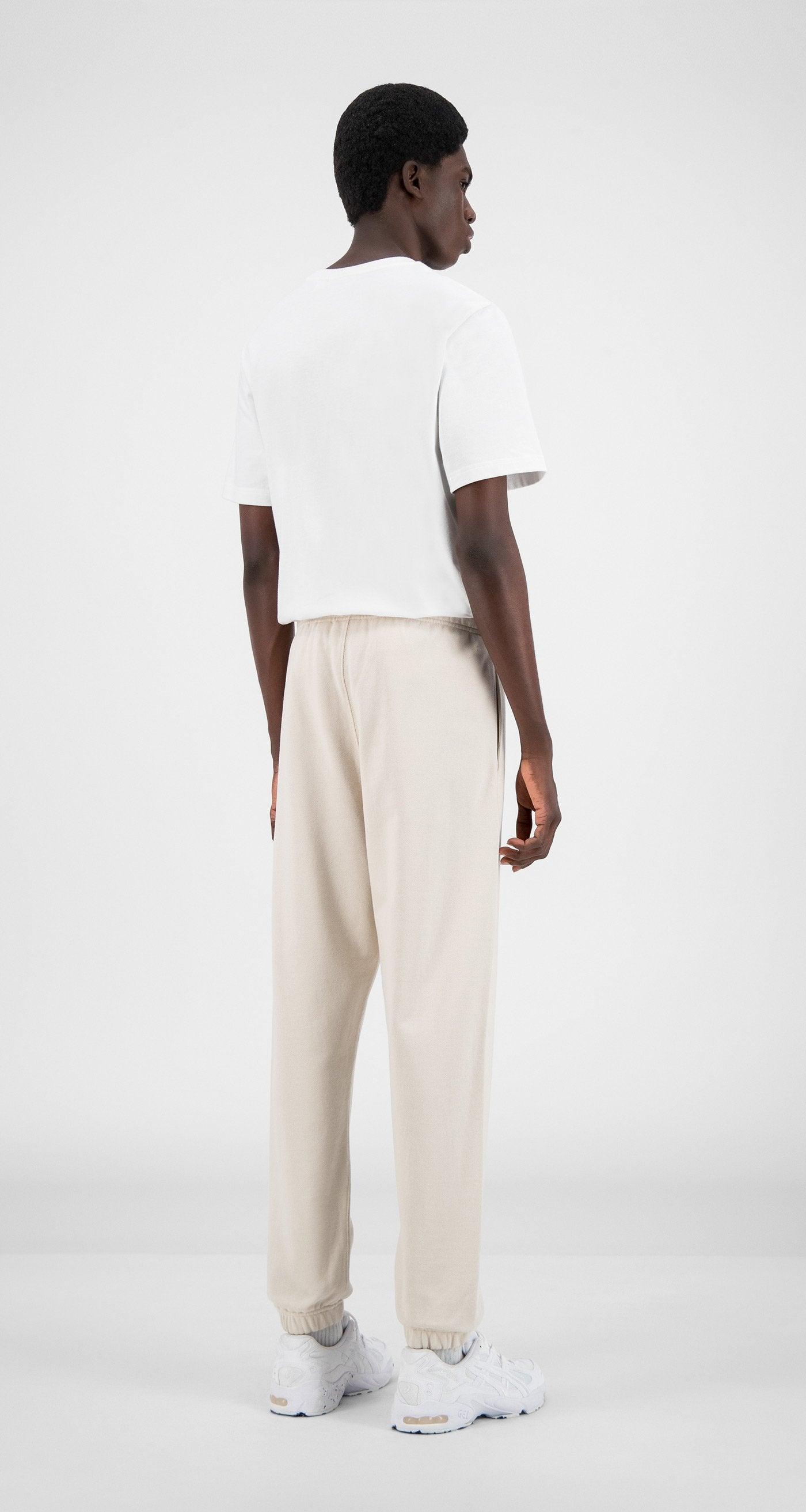 Daily Paper - Moonbeam Beige Alias Sweatpants - Men Rear