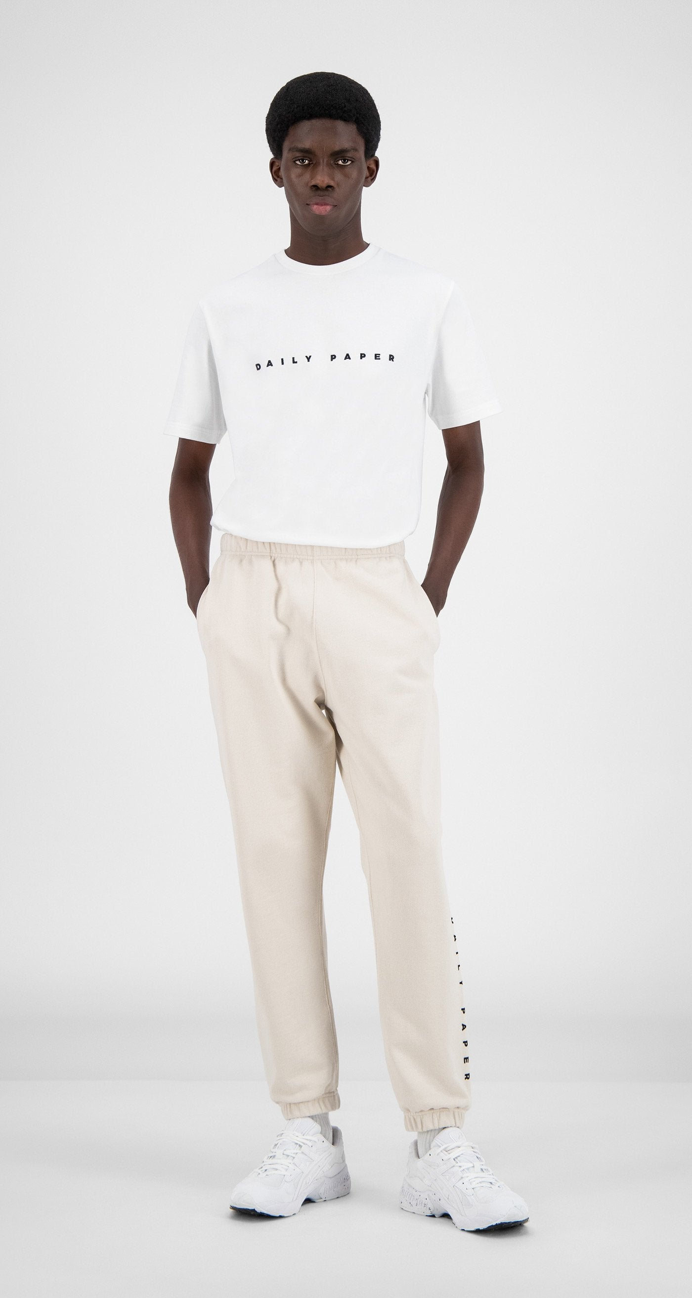 Daily Paper - Moonbeam Beige Alias Sweatpants - Men