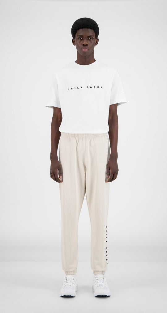 Daily Paper - Moonbeam Beige Alias Sweatpants - Men Front