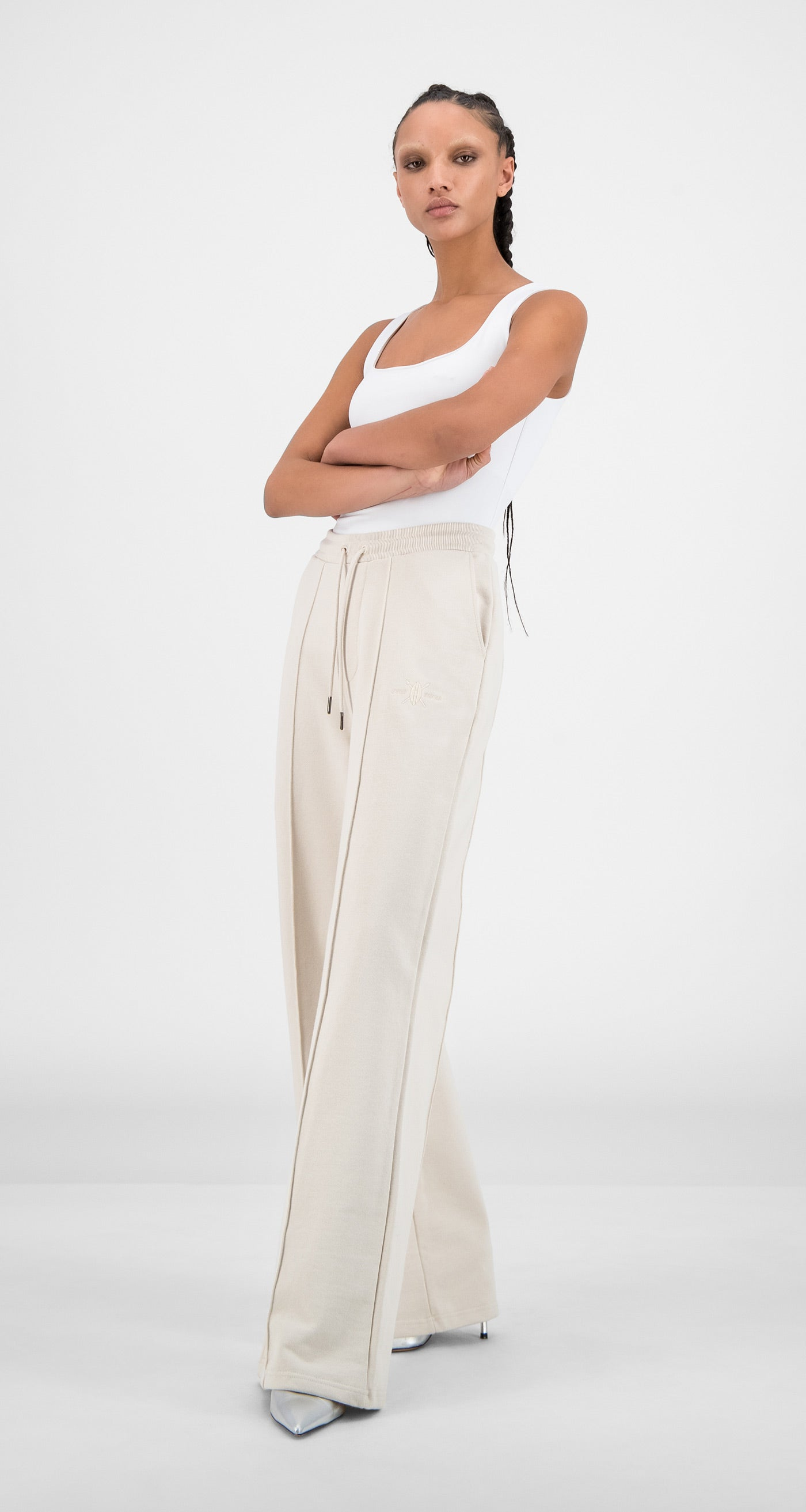 Daily Paper - Moonbeam Beige Hifa Pants - Women