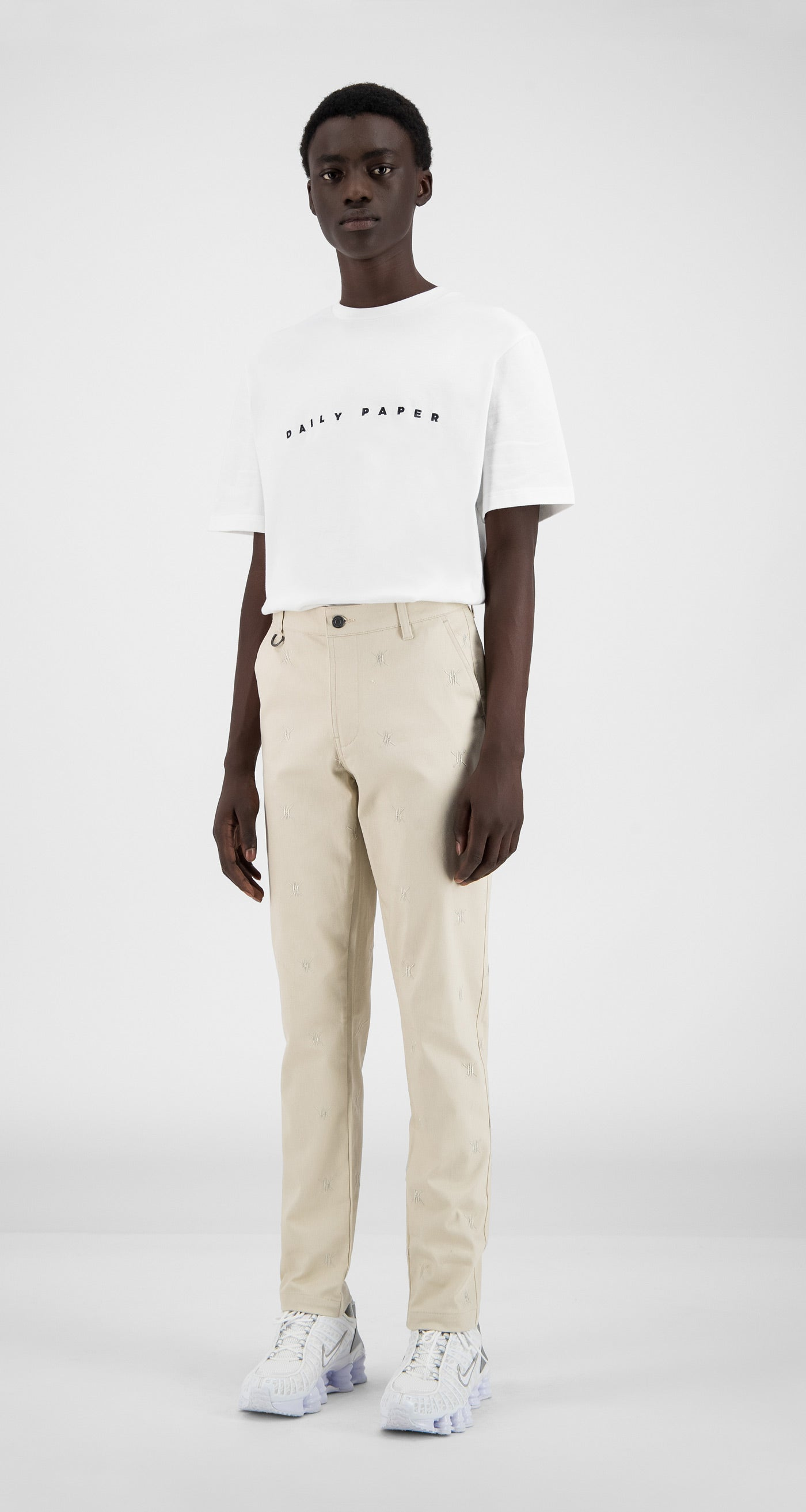 Daily Paper - Moonbeam Beige Kenya Pants - Men