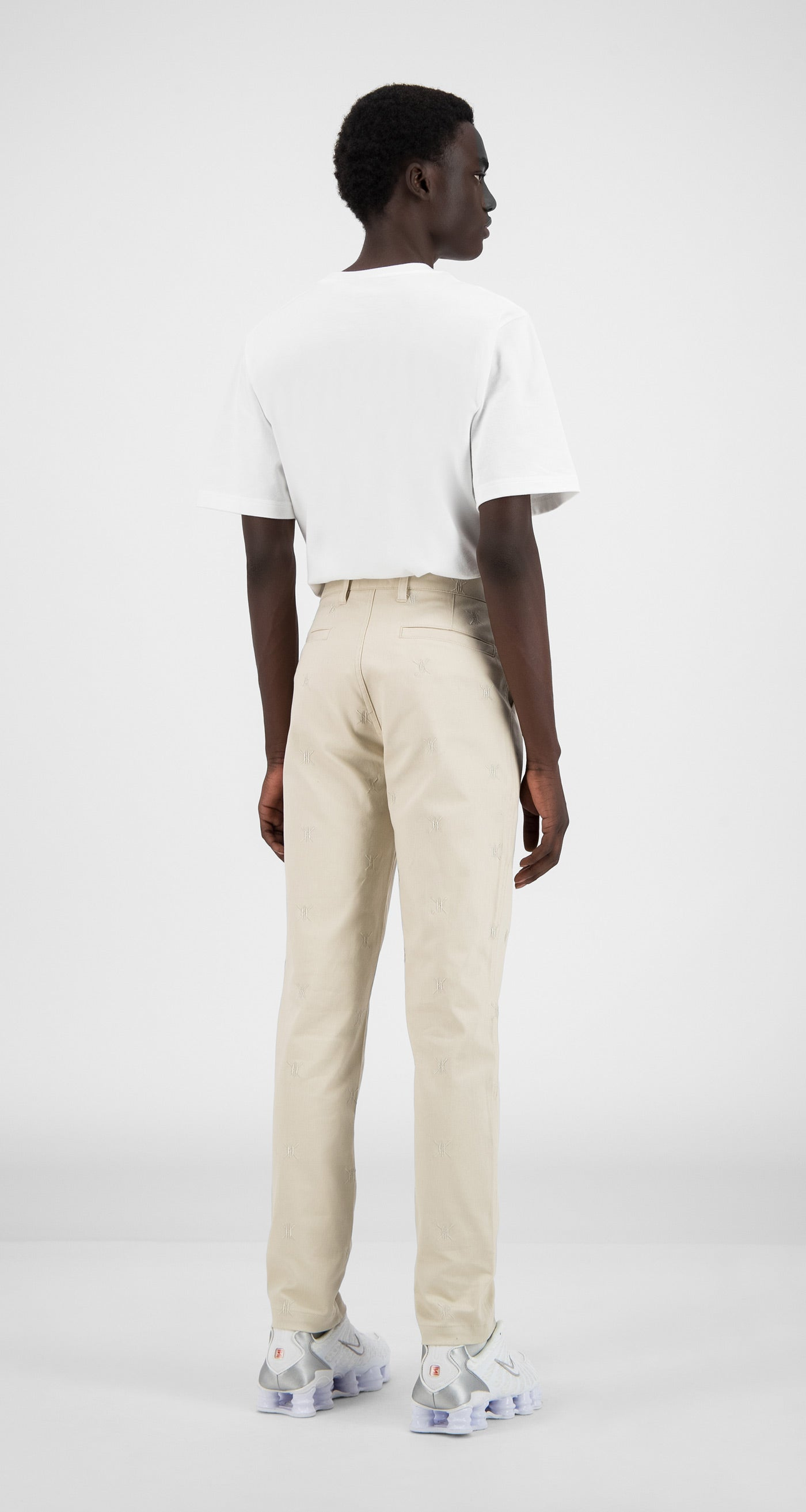 Daily Paper - Moonbeam Beige Kenya Pants - Men Rear