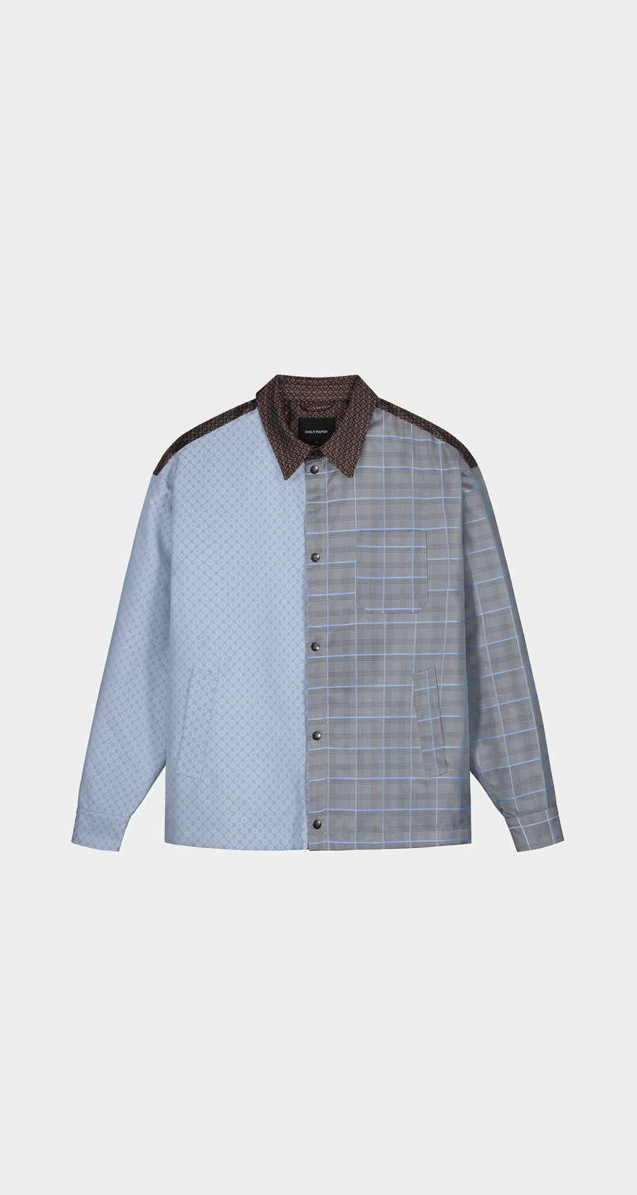 Daily Paper - Light Blue Kair Jacket - Men Front