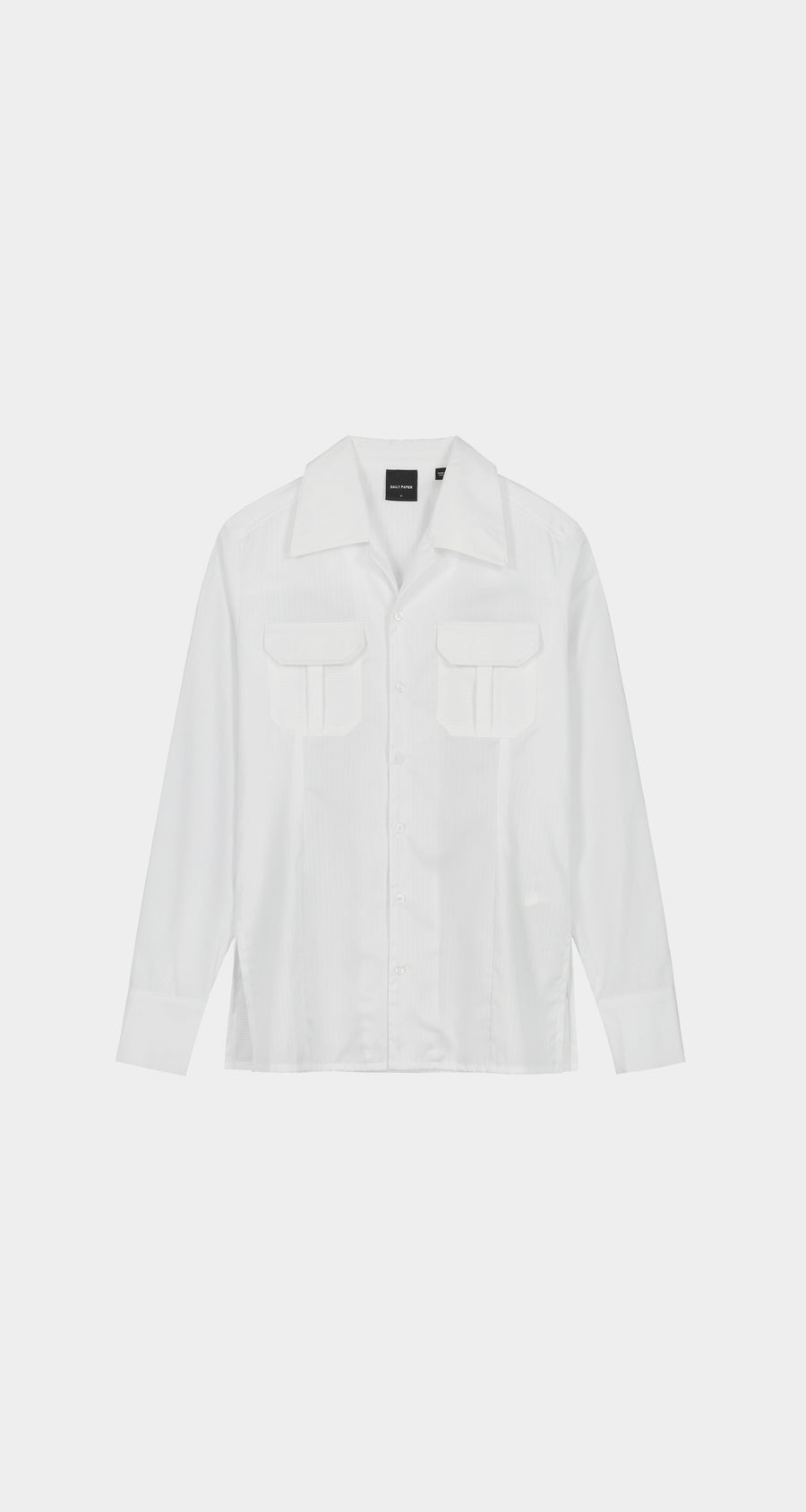 Daily Paper - White Kaleb Shirt - Men Front