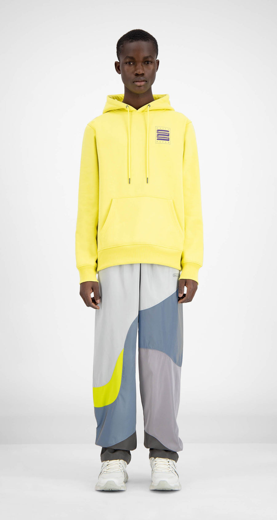 Daily Paper - Canary Yellow Hacana Hoody - Men Front