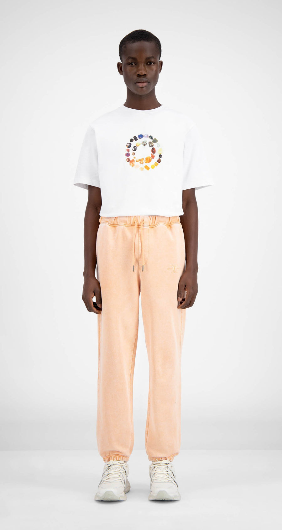 Daily Paper - Washed Peach Hacid Pants - Men Front
