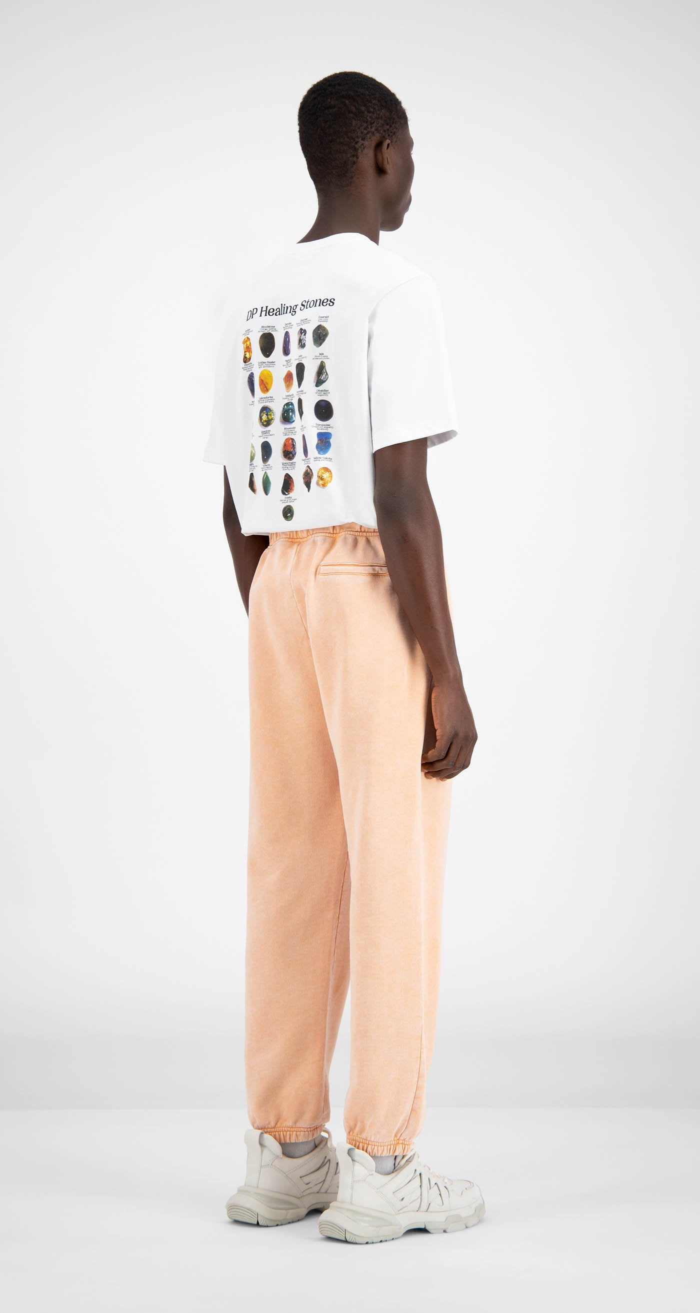 Daily Paper - Washed Peach Hacid Pants - Men Rear