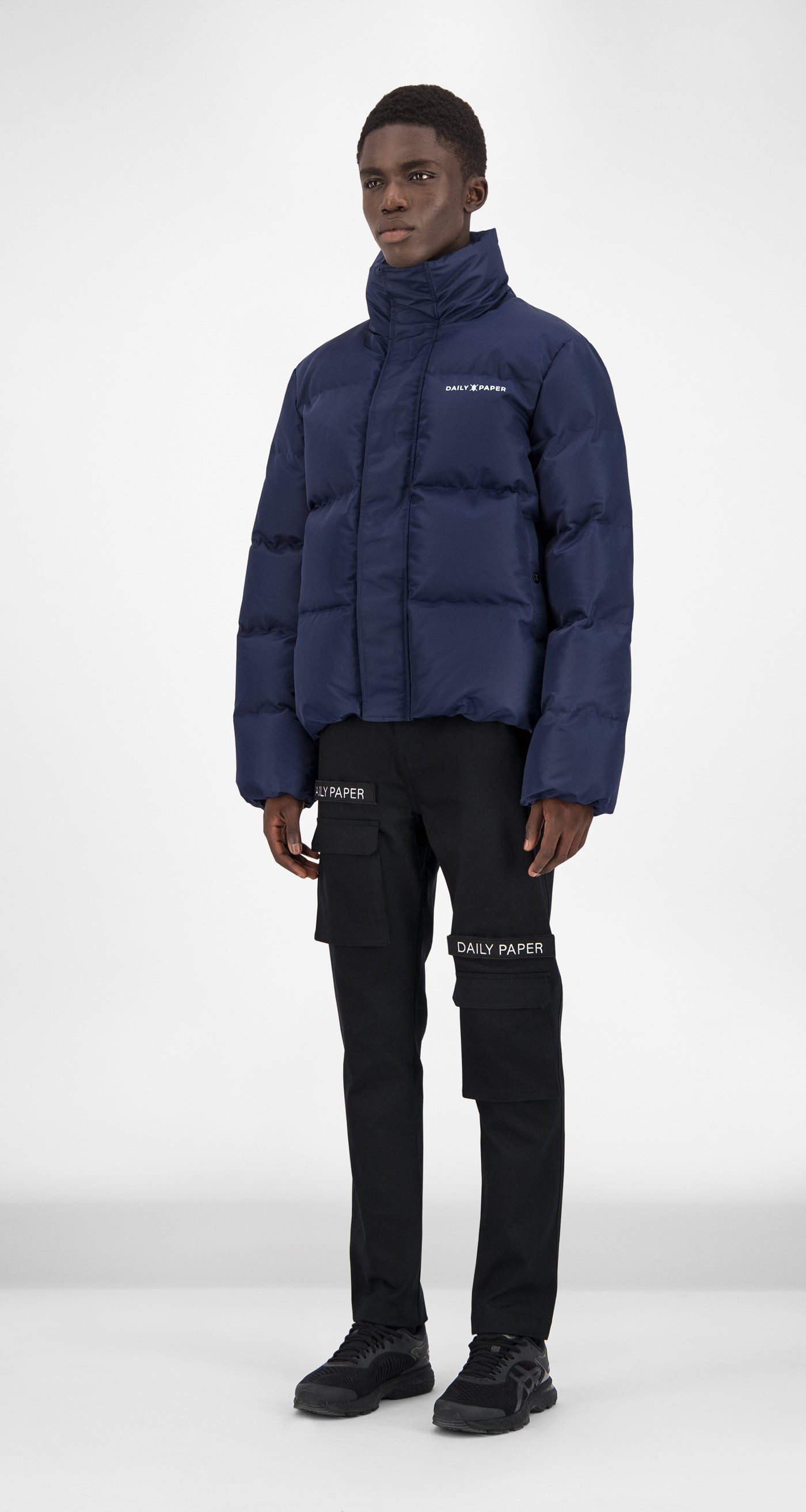 Daily Paper - Navy Puffer Jacket Men