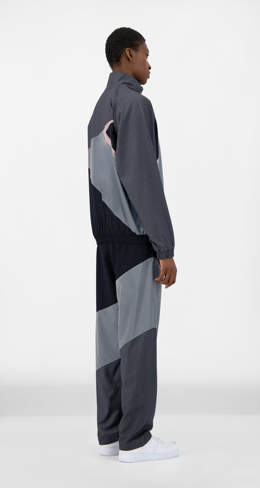 Daily Paper - Reflective Grey Jorie Jacket - Women Rear