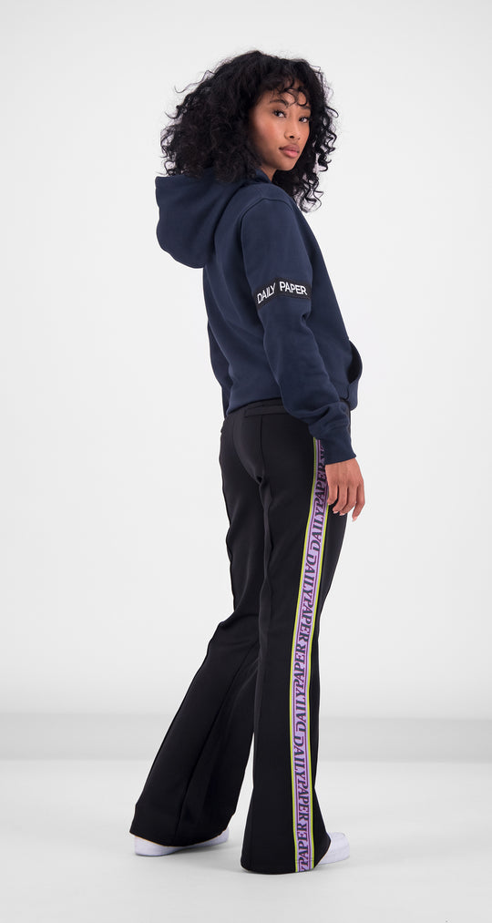 Daily Paper - Navy Captain Hoody Women Rear