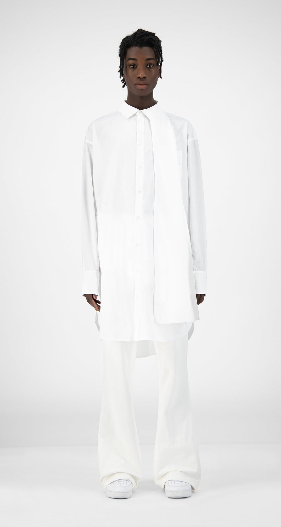 Daily Paper - White Kairo Shirt - Men Front