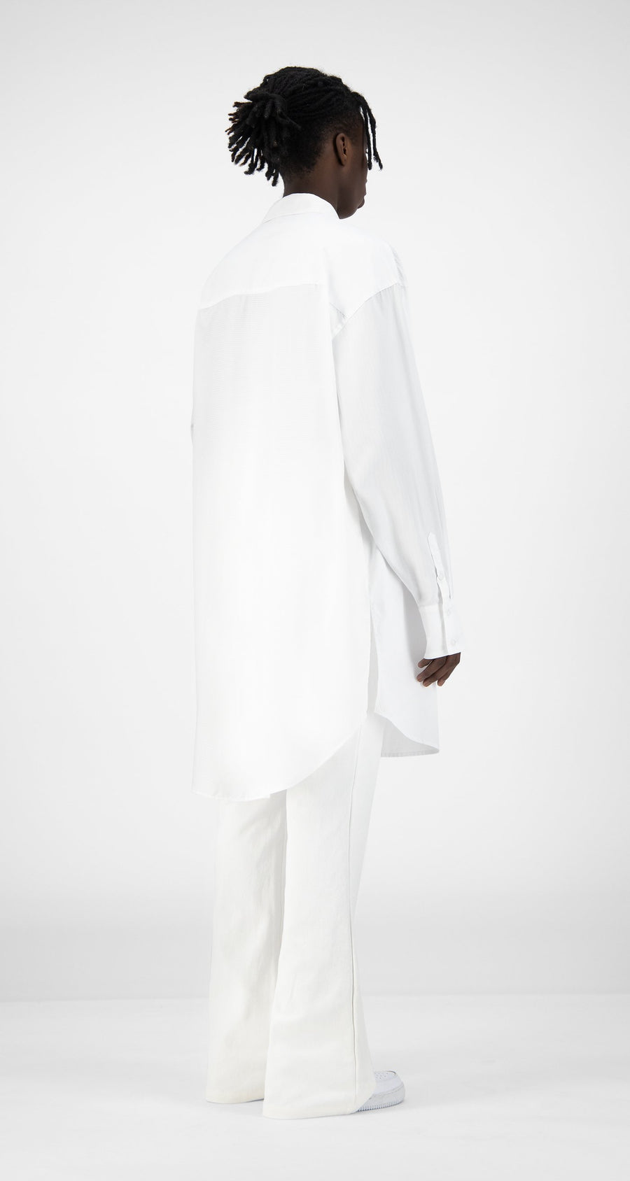 Daily Paper - White Kairo Shirt - Men Rear