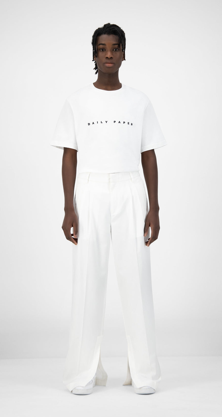 Daily Paper - White Kohan Pants - Men Rear