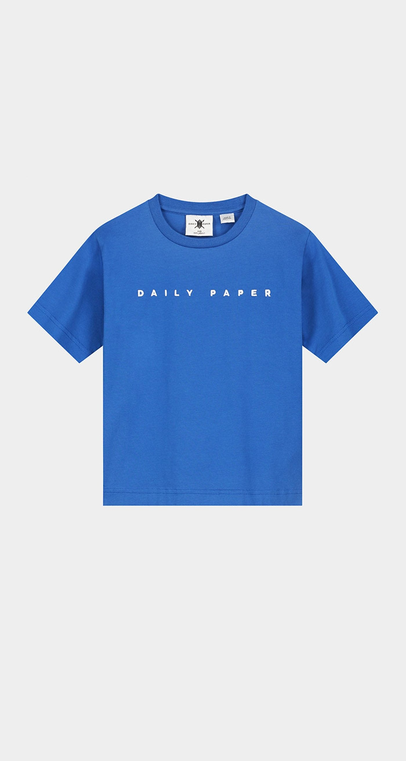 Daily Paper - Olympian Blue Kids Alias T-Shirt Front
