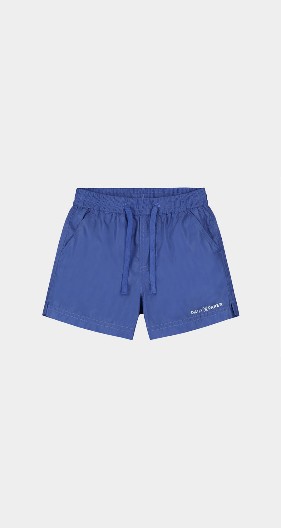 Daily Paper - Olympian Blue Kids Swim Shorts Front