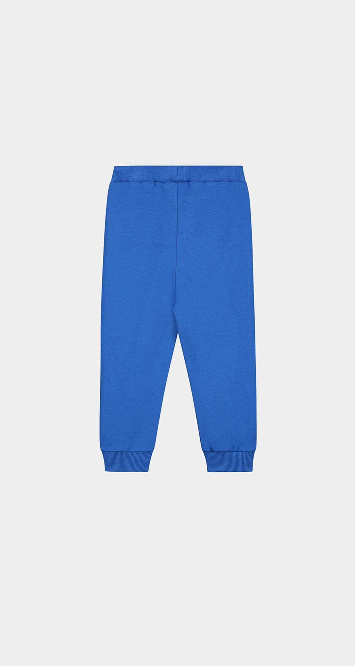 Daily Paper - Olympian Blue Kids Tape Logo Track Pants Rear