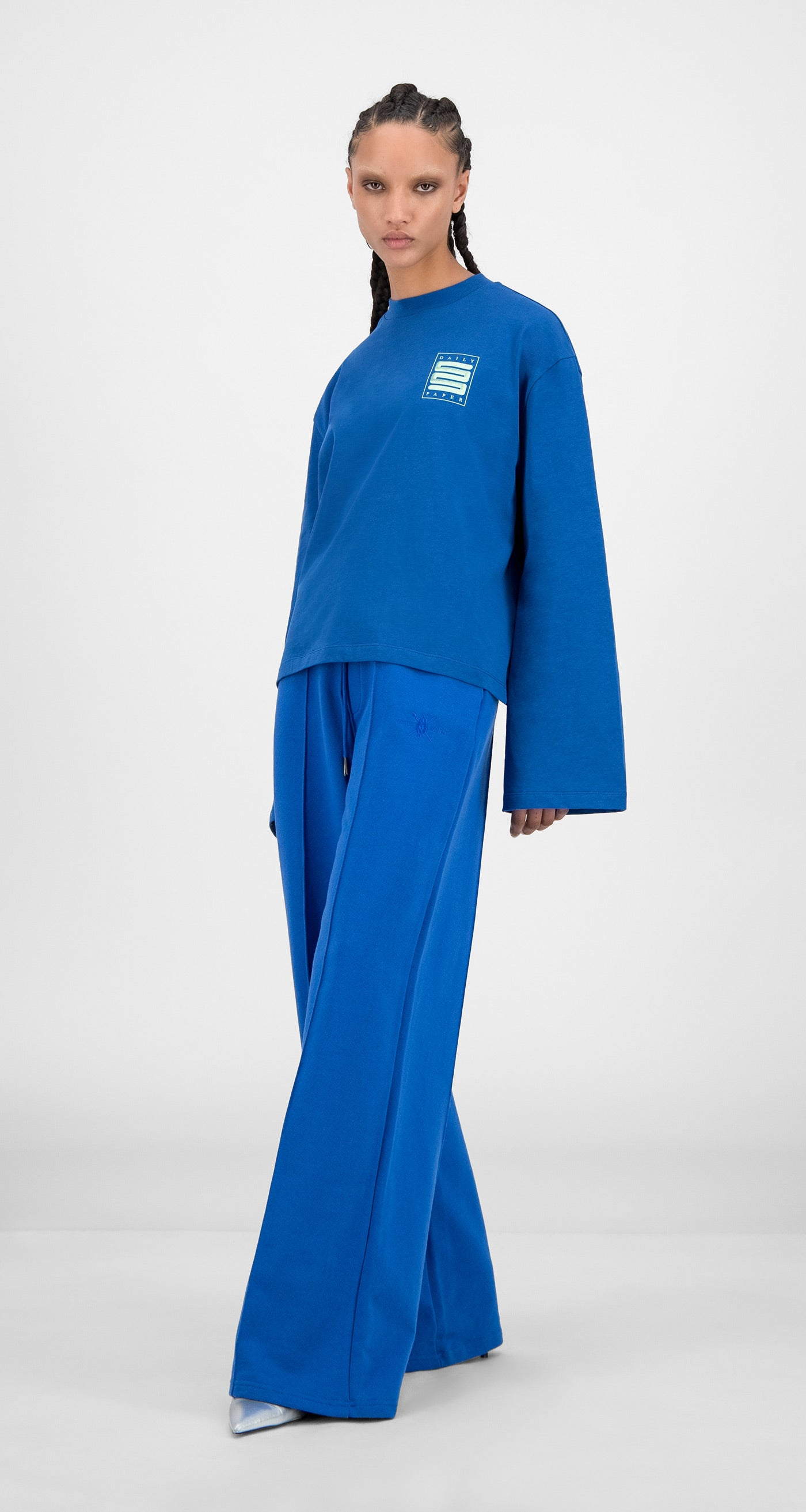 Daily Paper - Olympian Blue Hasoly Long Sleeve - Women
