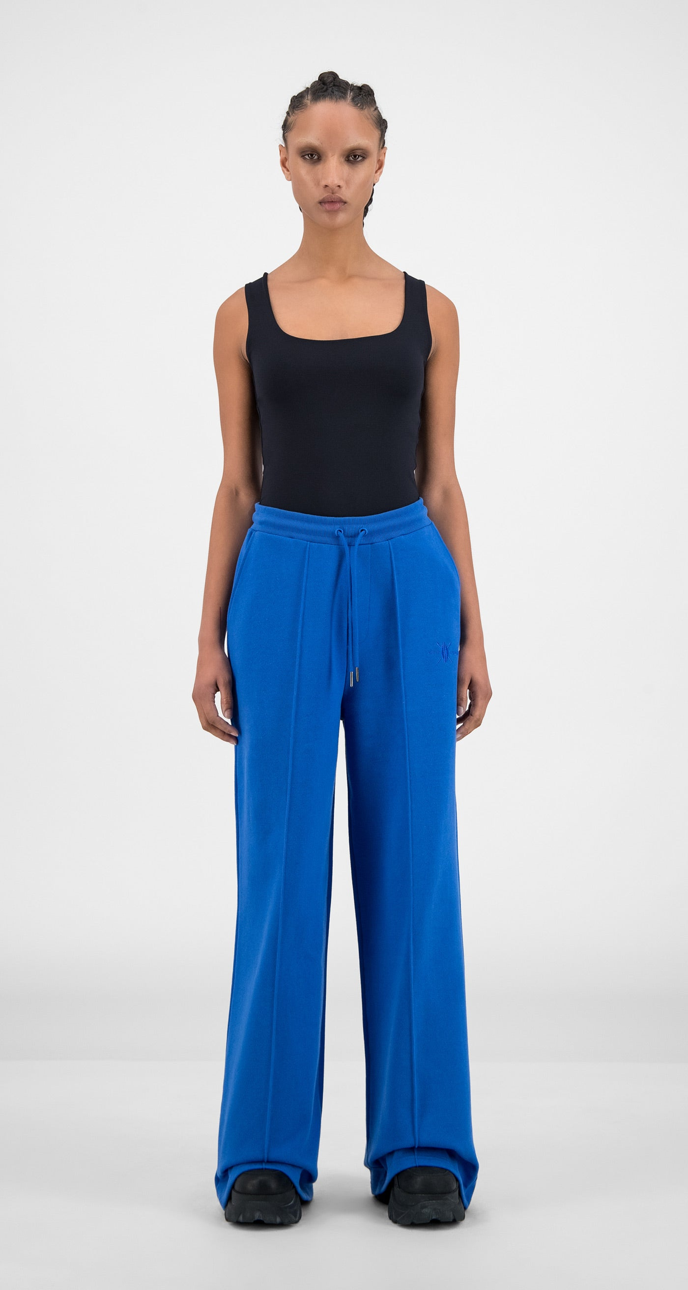 Daily Paper - Olympian Blue Hifa Pants - Women Front