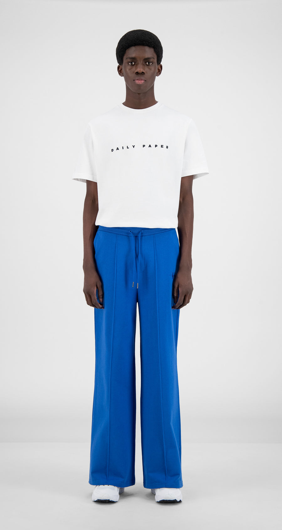 Daily Paper - Olympian Blue Hifa Pants - Men Front