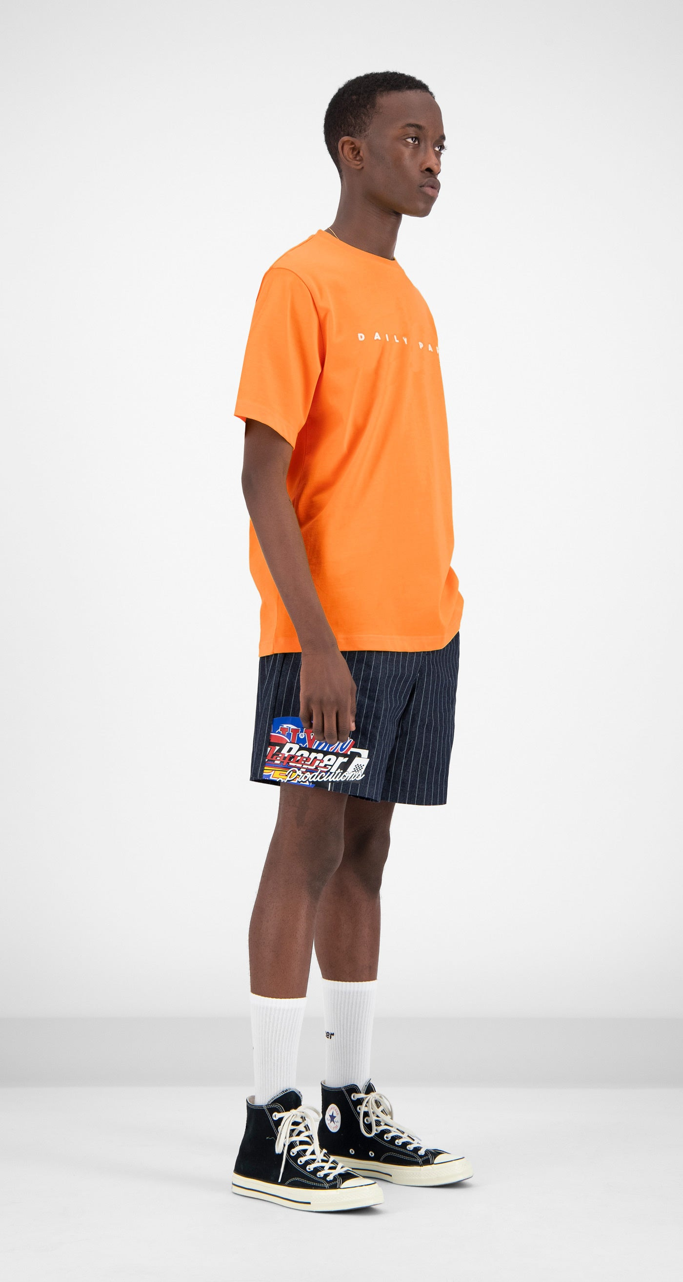 Daily Paper - Orange Alias T-shirt Men