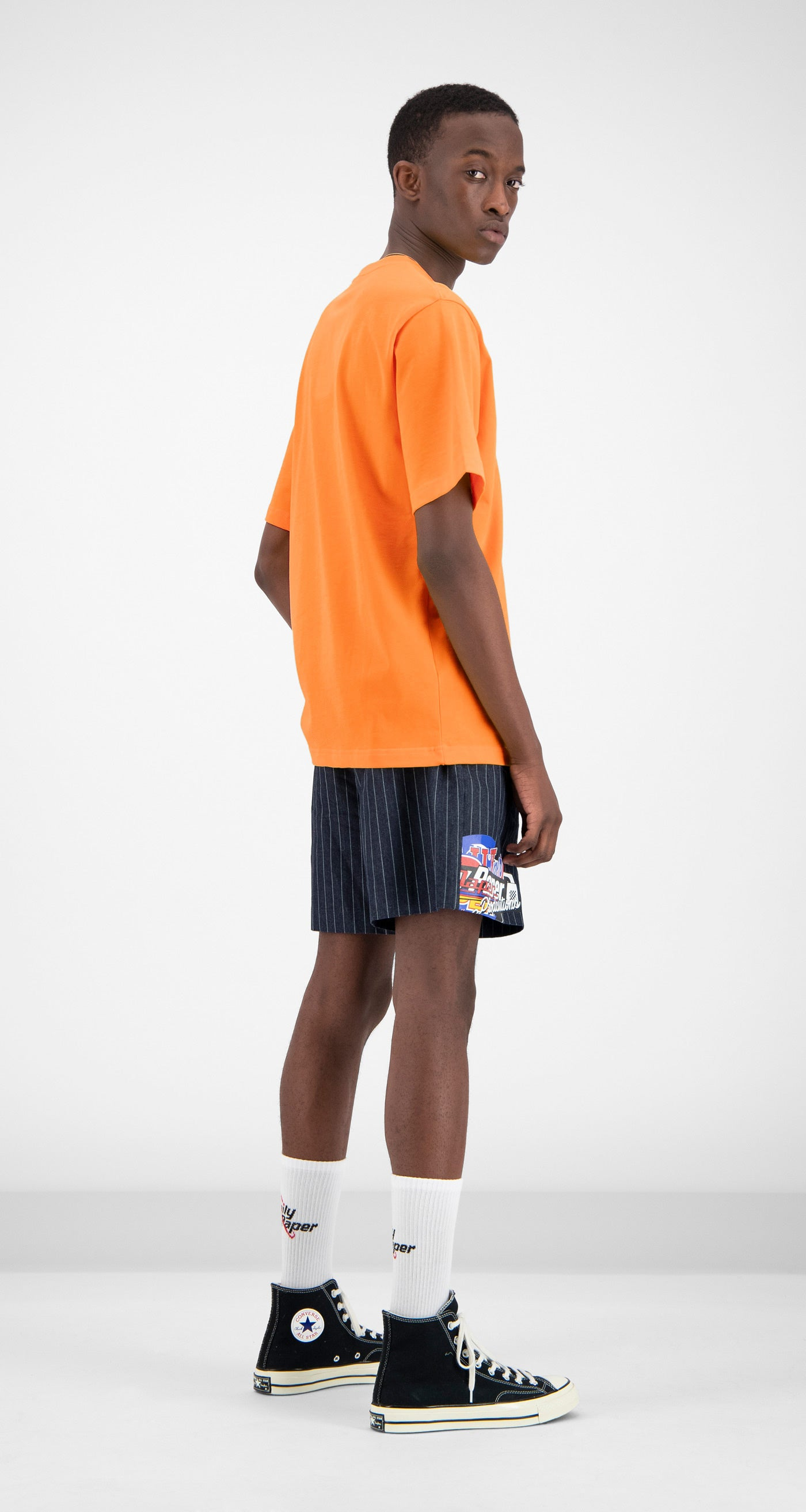 Daily Paper - Orange Alias T-shirt Men Rear