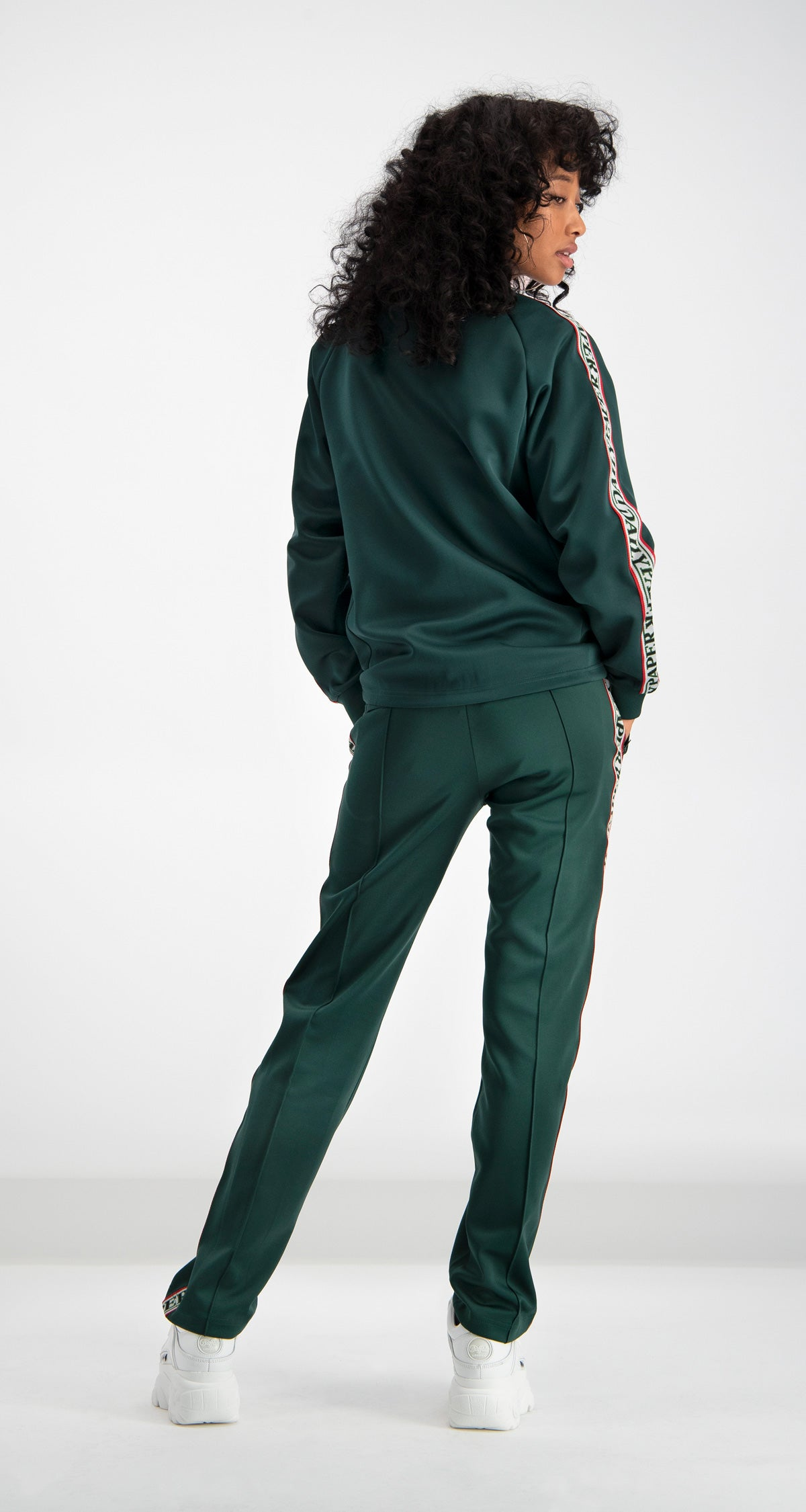 Green Dapevest Track Top