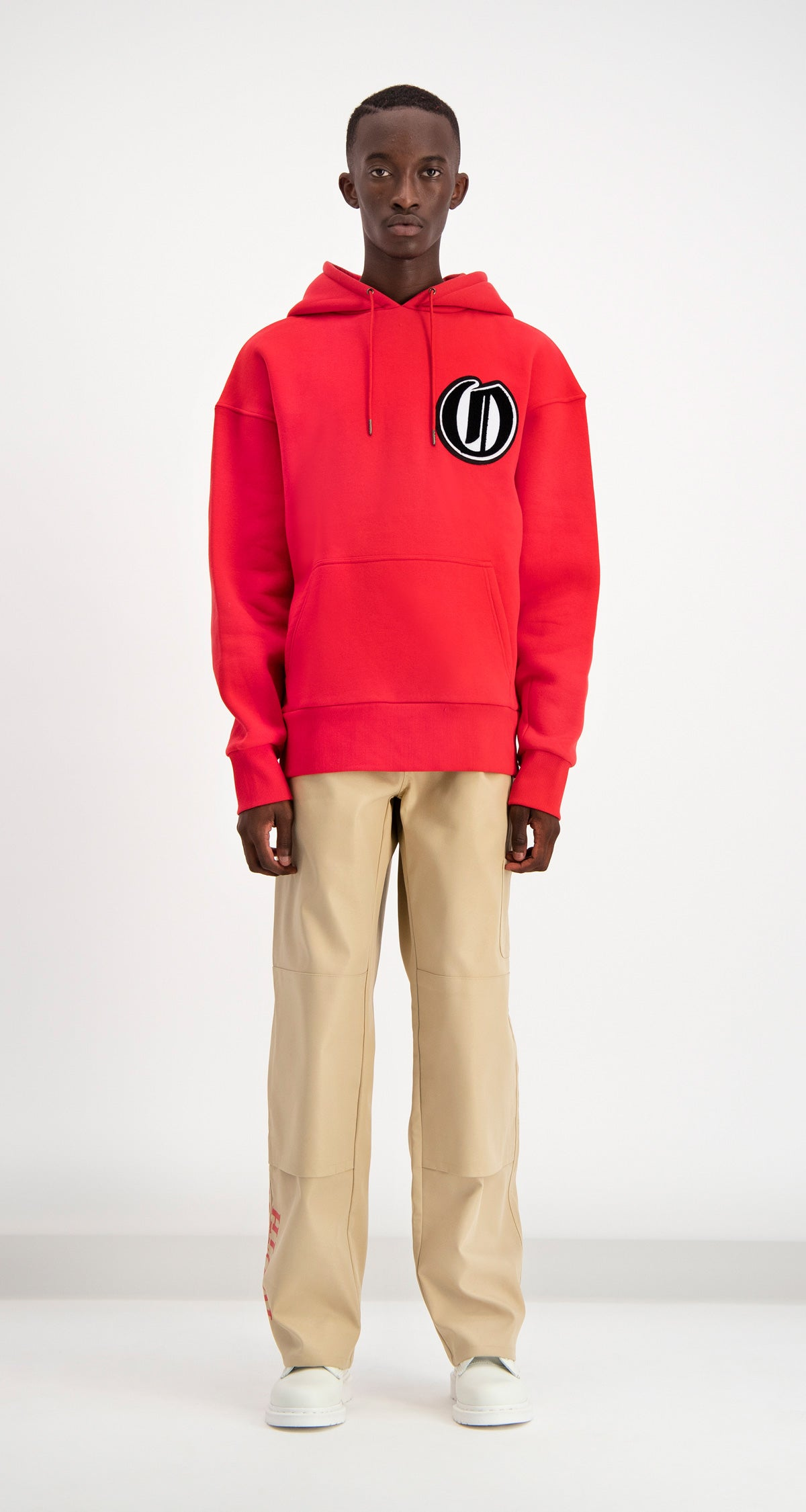 Daily Paper - Red Dalis Hoodie Men Front