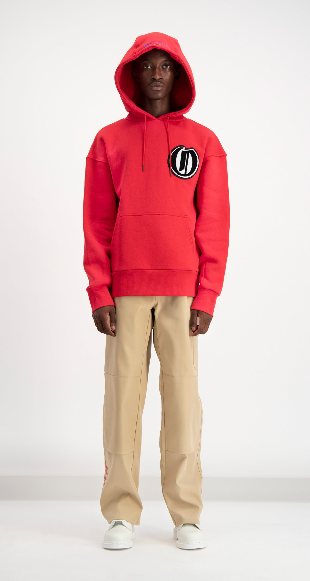 Daily Paper - Red Dalis Hoodie Men