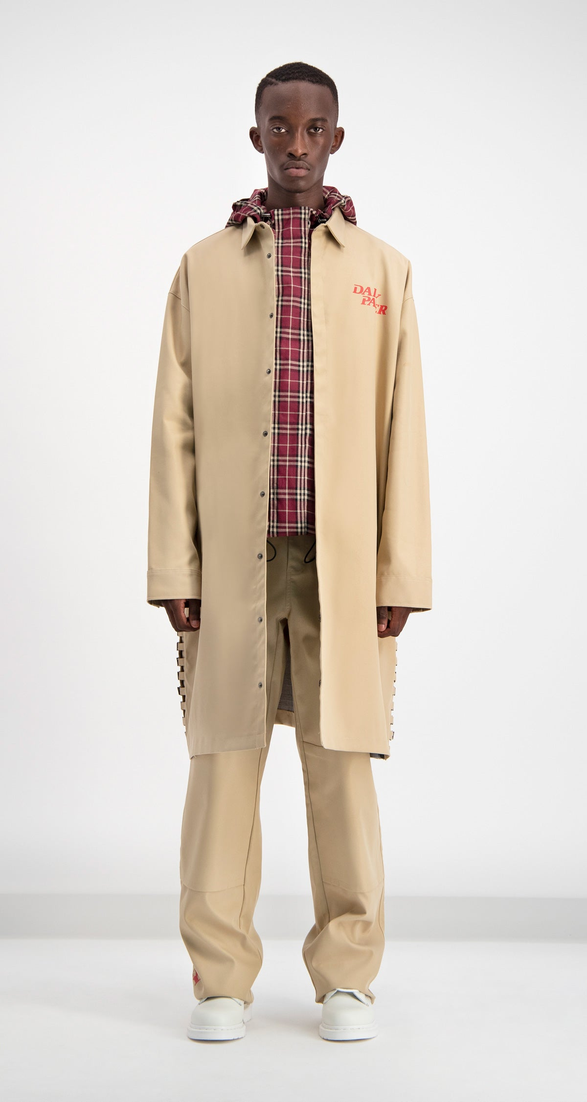 Daily Paper - Beige Drawl Jacket Men Front