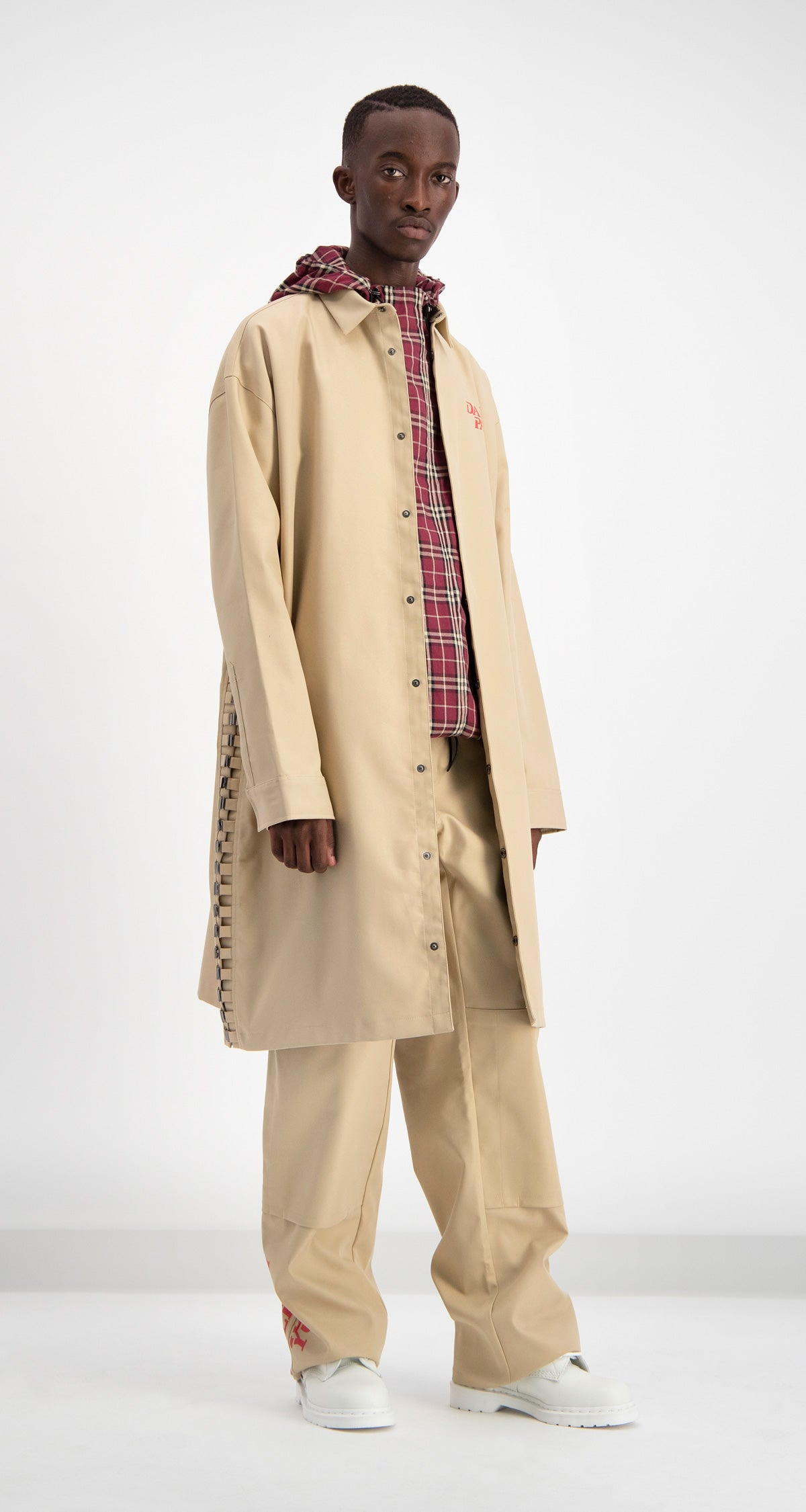 Daily Paper - Beige Drawl Jacket Men