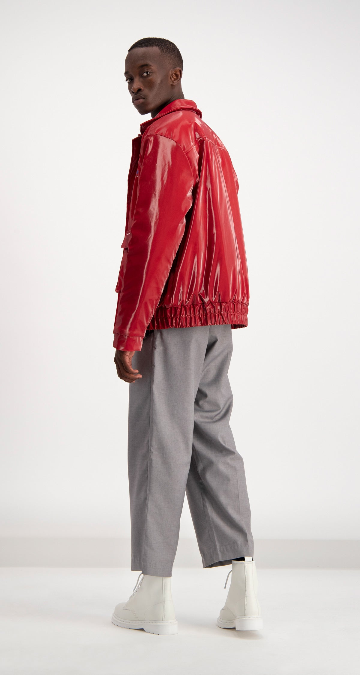 Daily Paper - Red Dami Jacket Men Rear