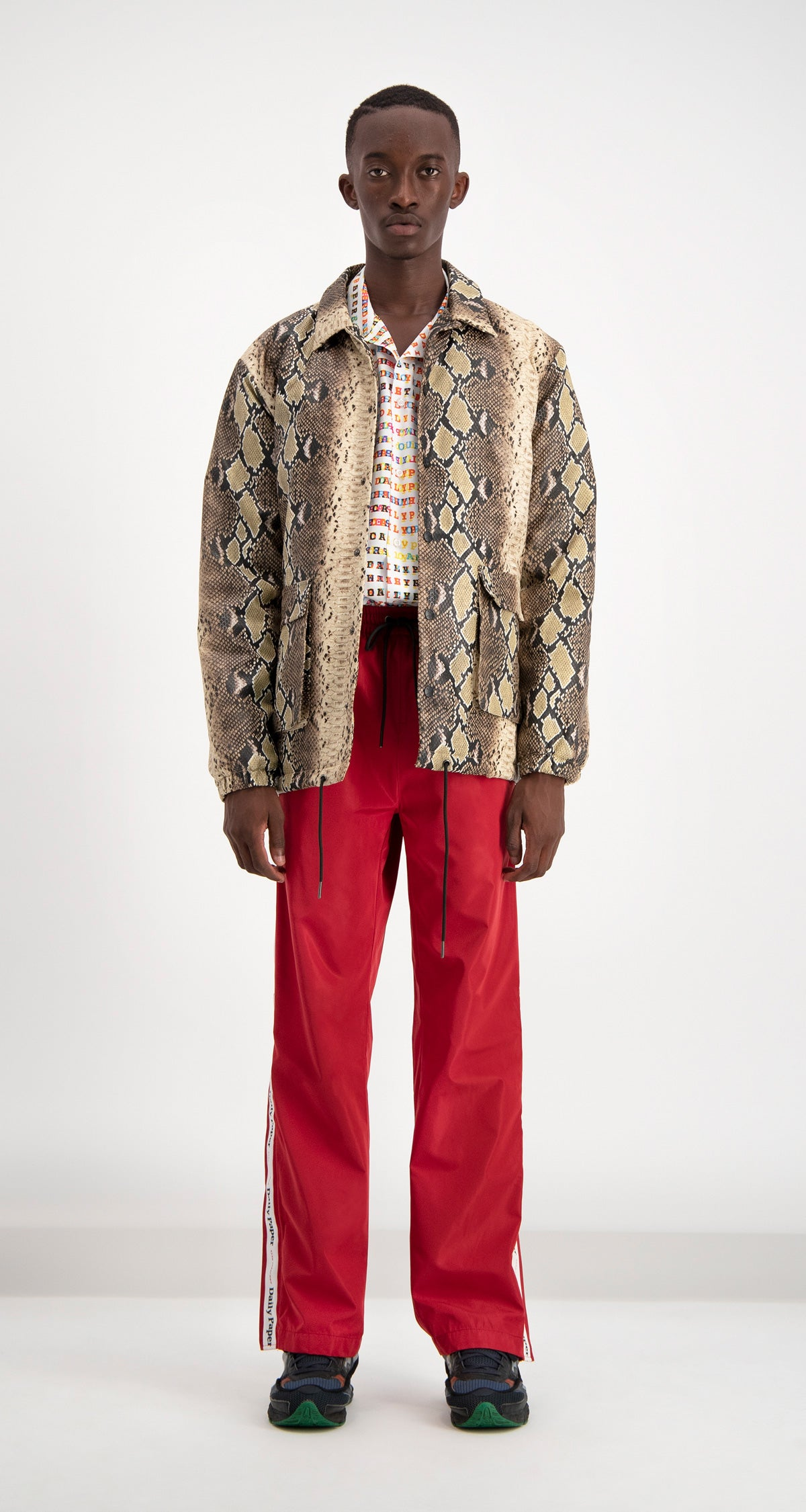 Daily Paper - Snake Skin Doach Jacket Men