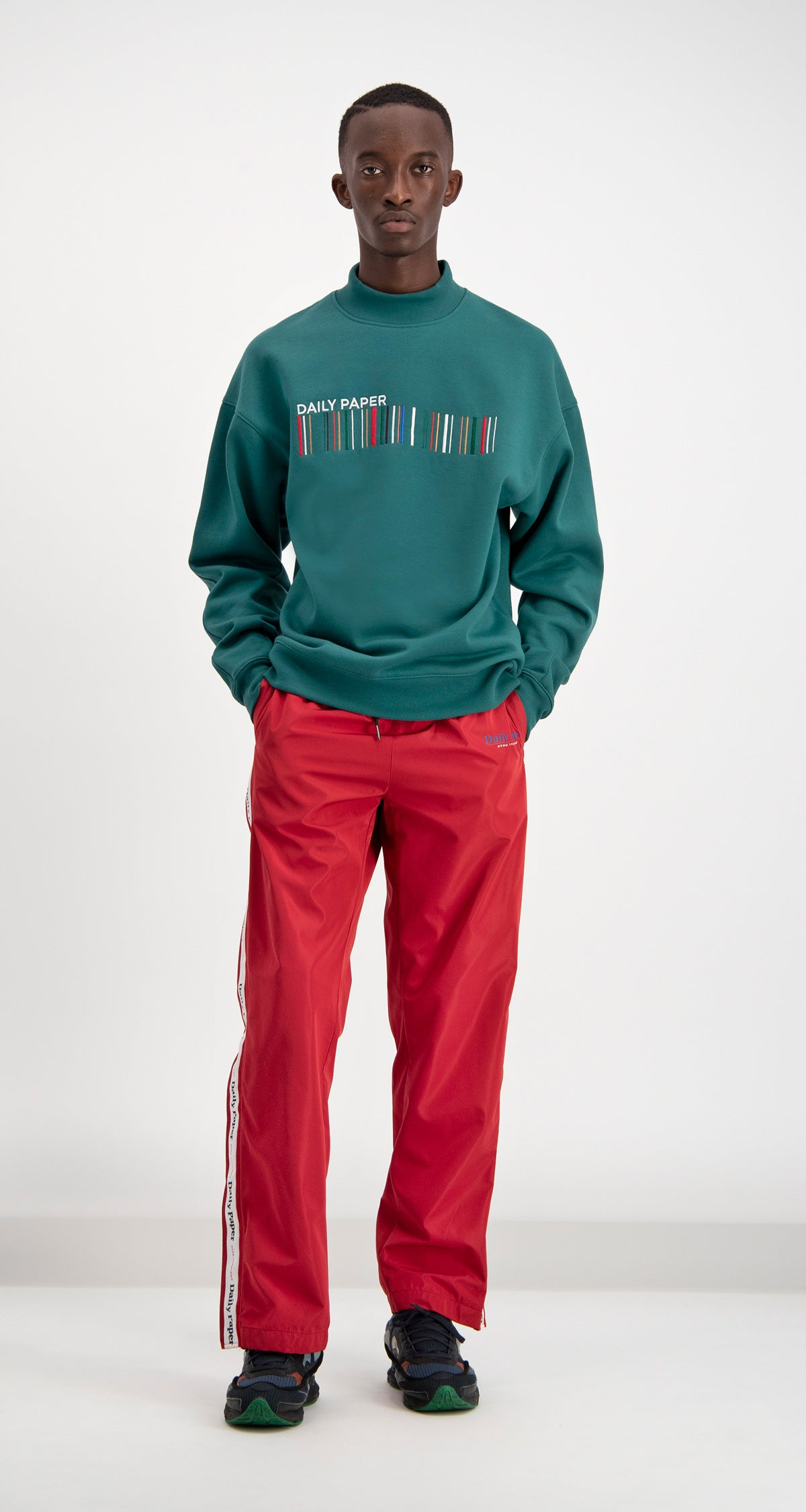 Daily Paper - Dark Green Coyar Sweater Men