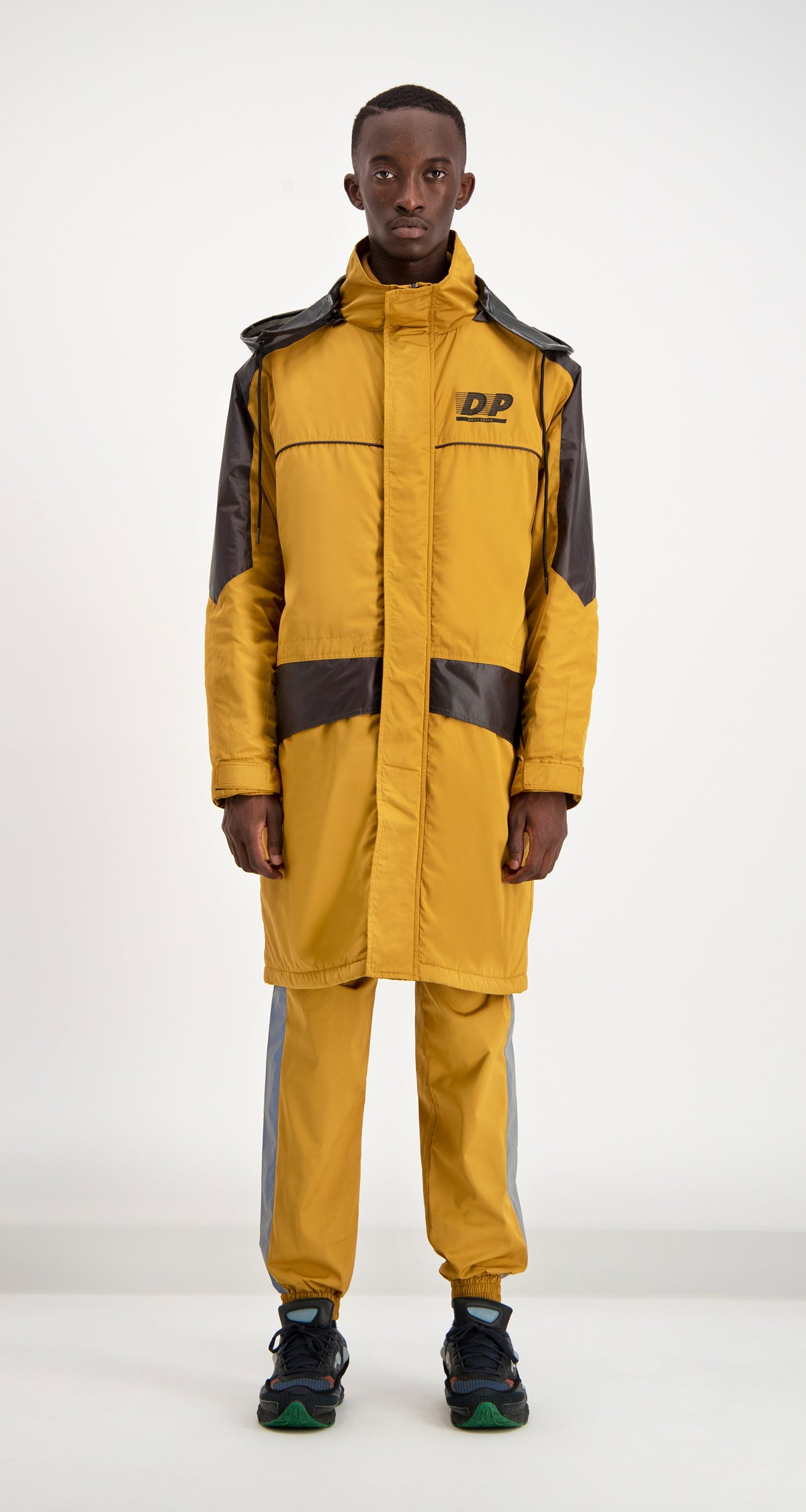 Daily Paper - Yellow Dipost Jacket Men Front