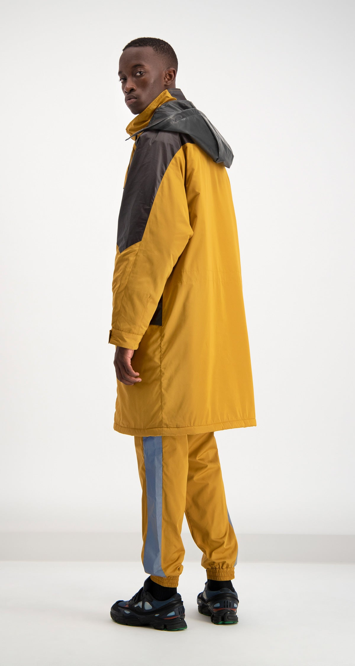 Daily Paper - Yellow Dipost Jacket Men Rear