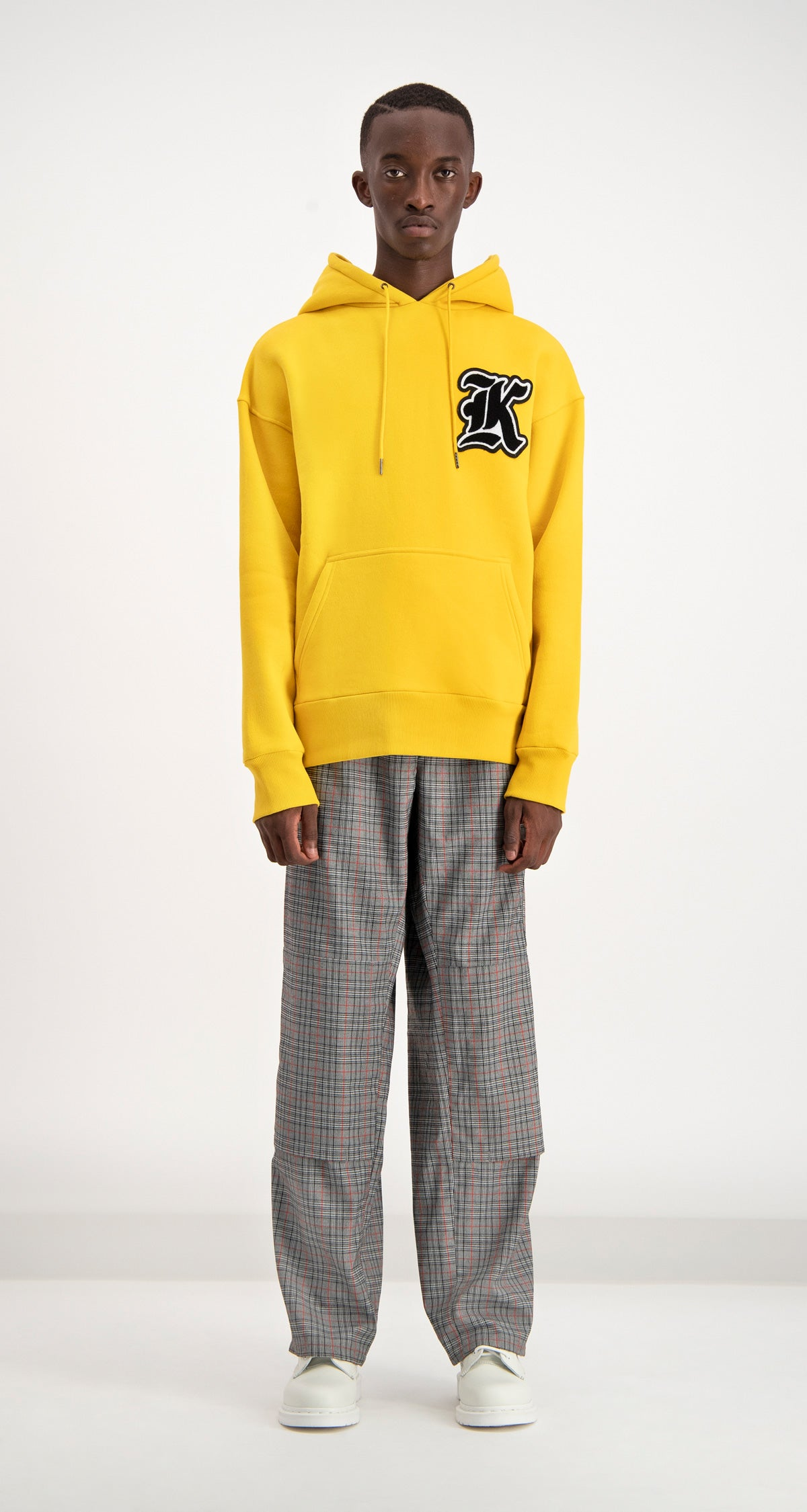Daily Paper - Yellow Dalis Hoodie Men Front