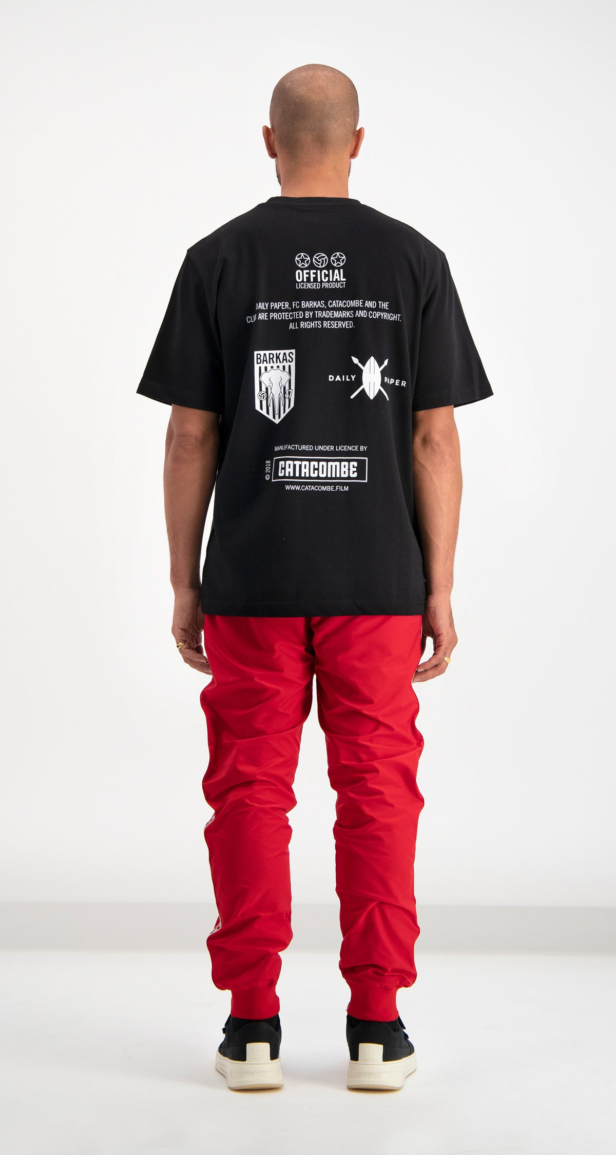 Daily Paper x Catacombe T-shirt Black