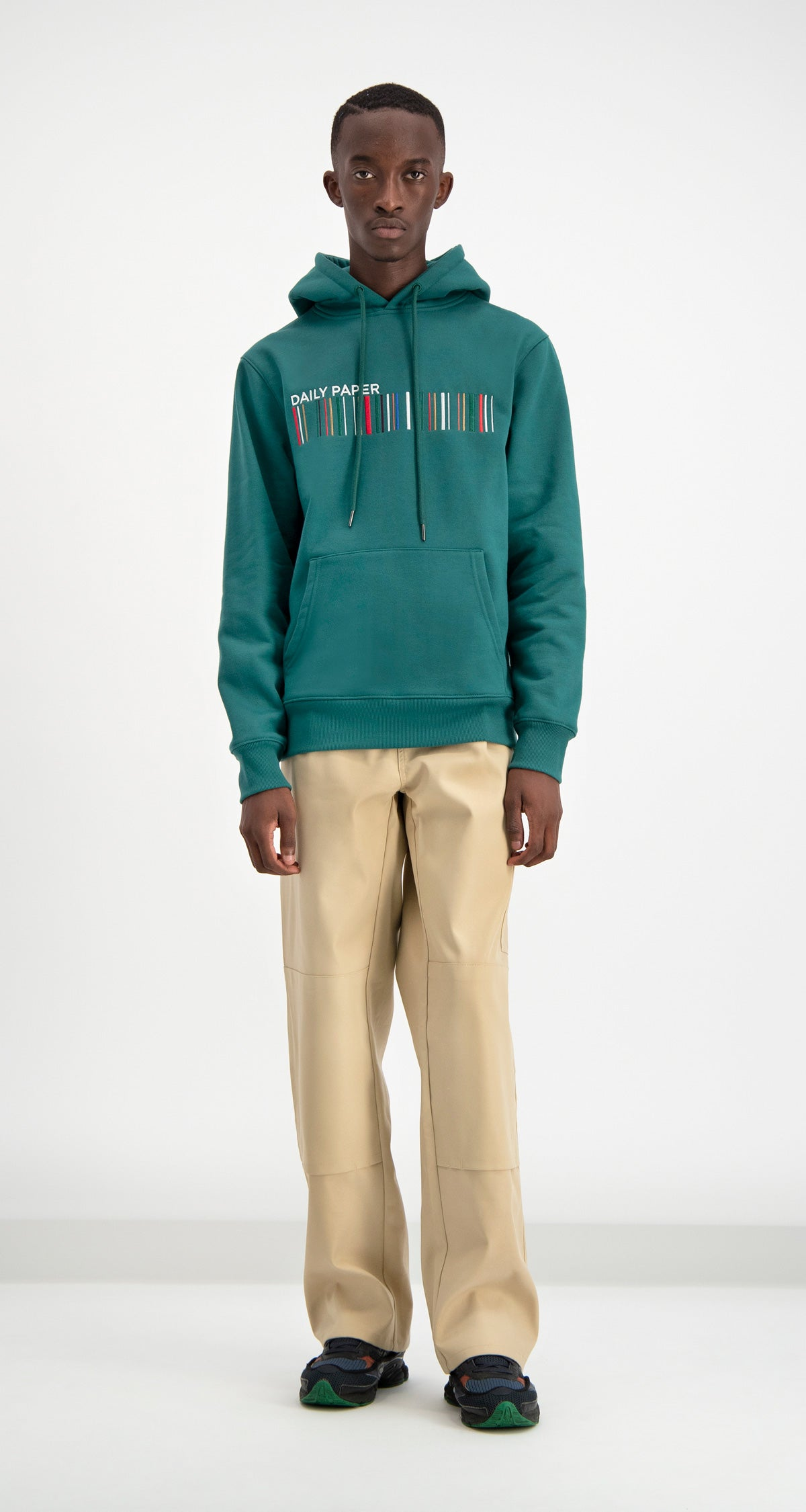 Daily Paper - Dark Green Coyar Hoody Men
