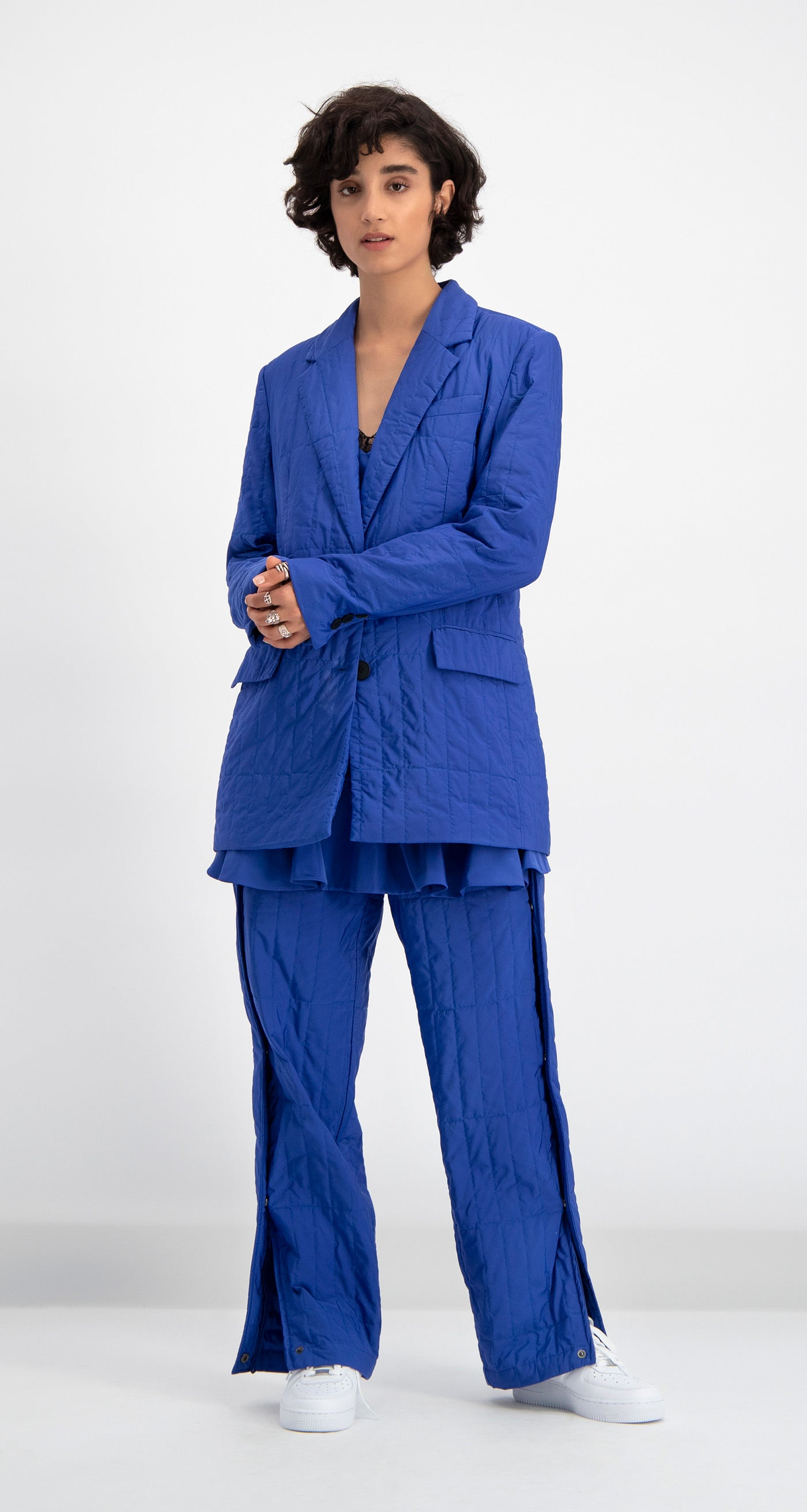Daily Paper - Blue Padded Dia Blazer