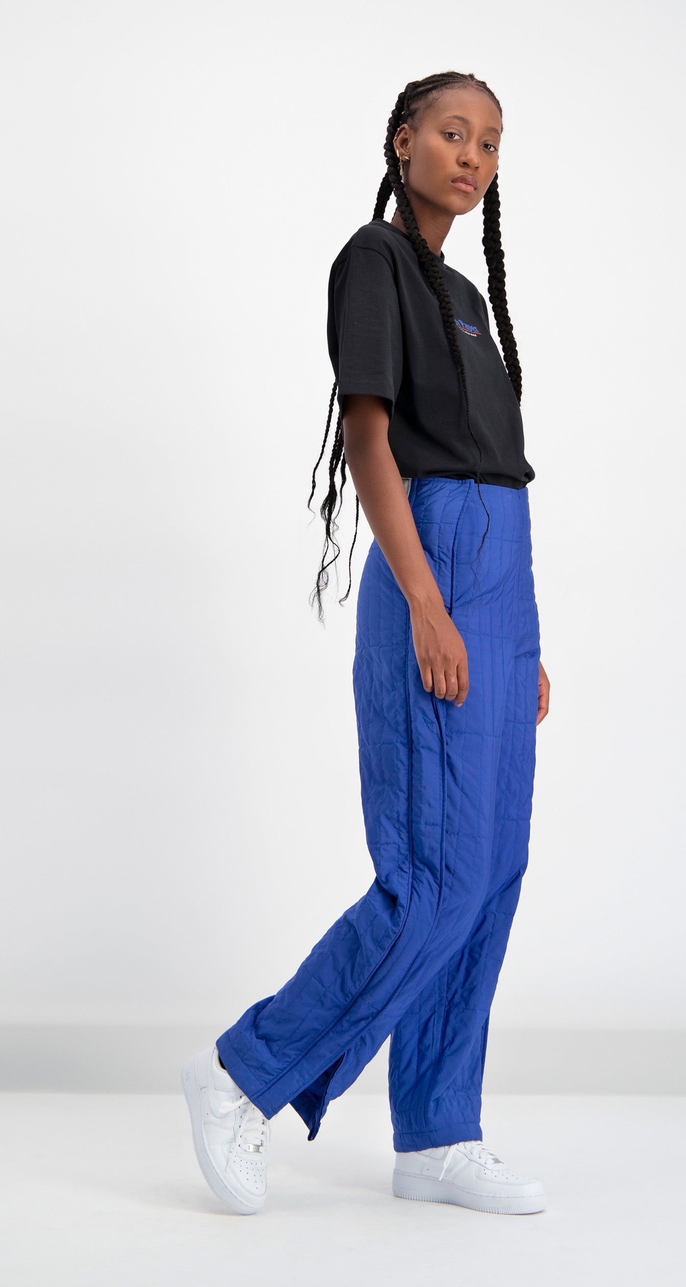 Daily Paper - Blue Padded Dide Pants