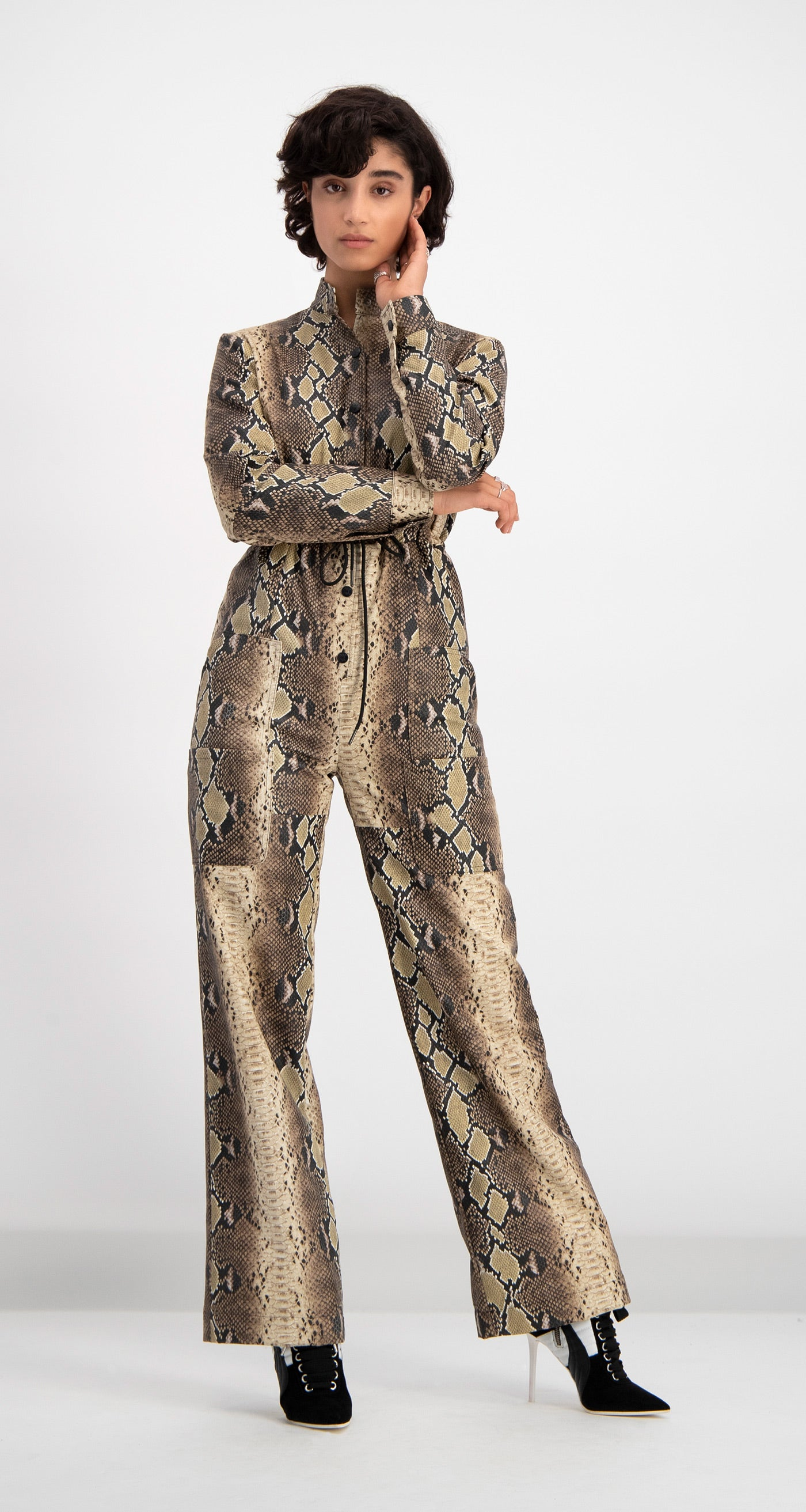 Daily Paper - Snake Skin Dree Jumpsuit Women