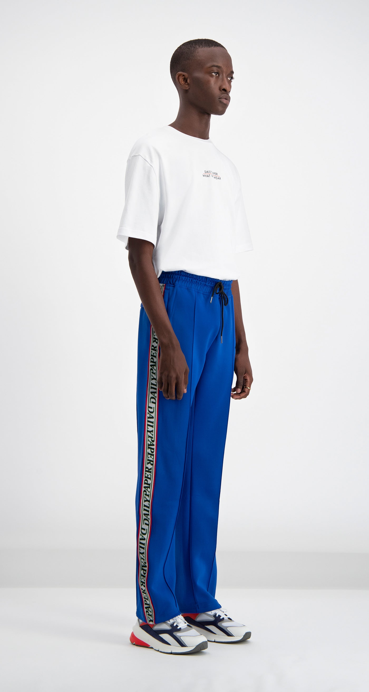 Daily Paper - Blue Liba Track Pants