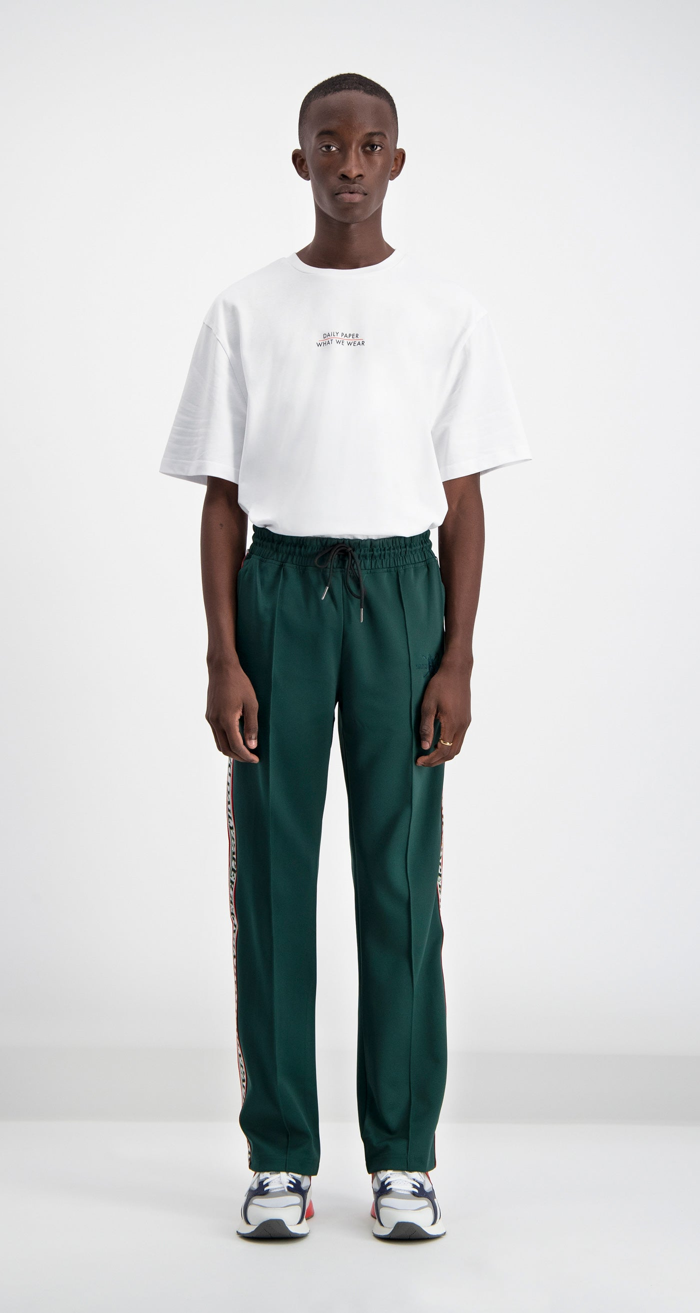 Daily Paper - Green Liba Track Pants Men